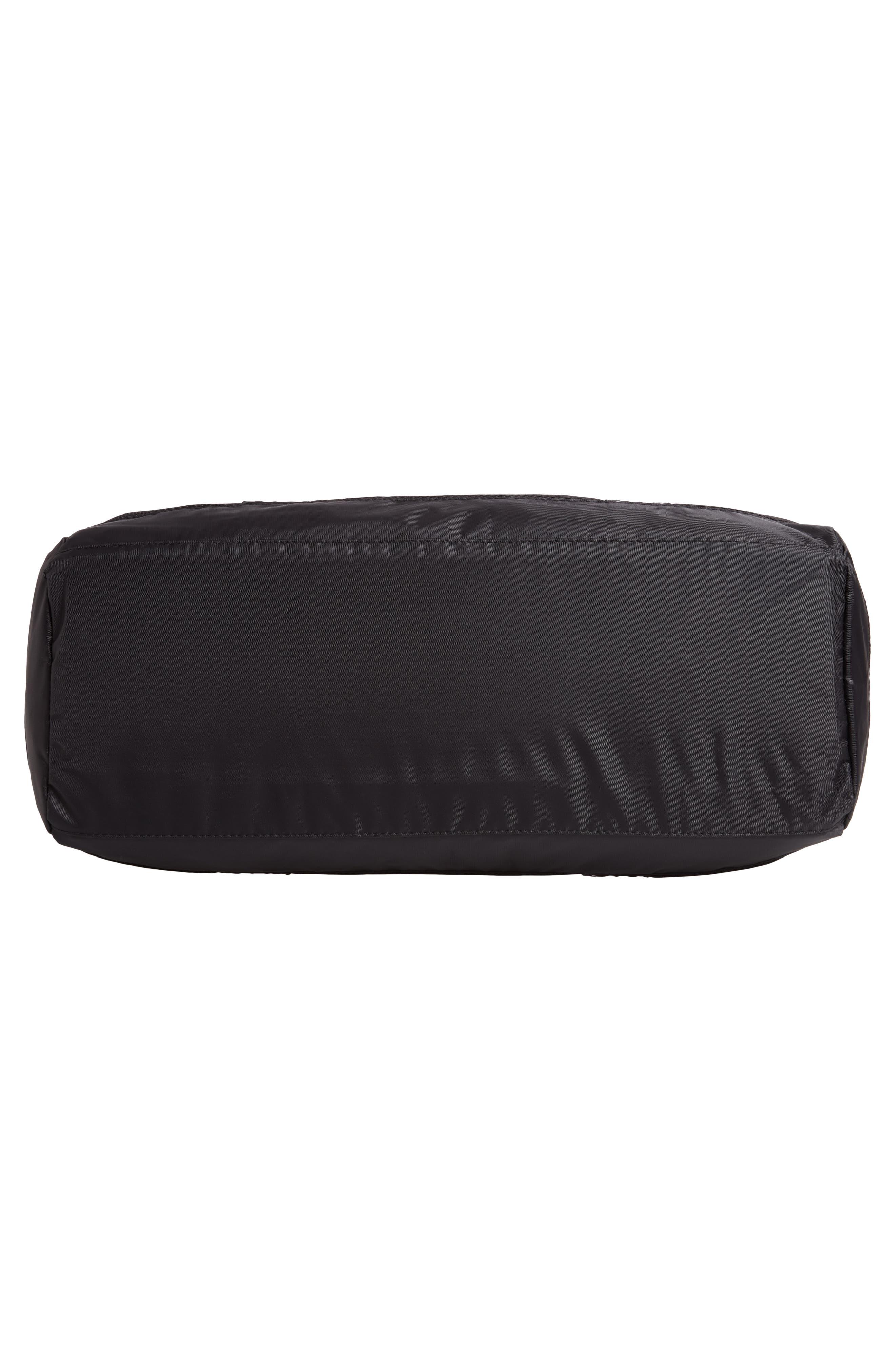 XL Athletic Duffel Bag,                             Alternate thumbnail 6, color,                             BLACK-WHITE