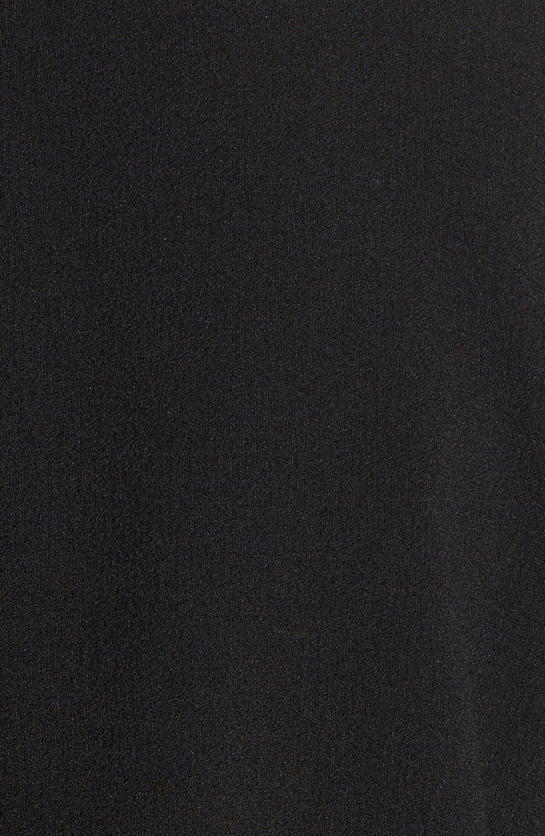 Drape Front Long Jacket,                             Alternate thumbnail 2, color,                             016
