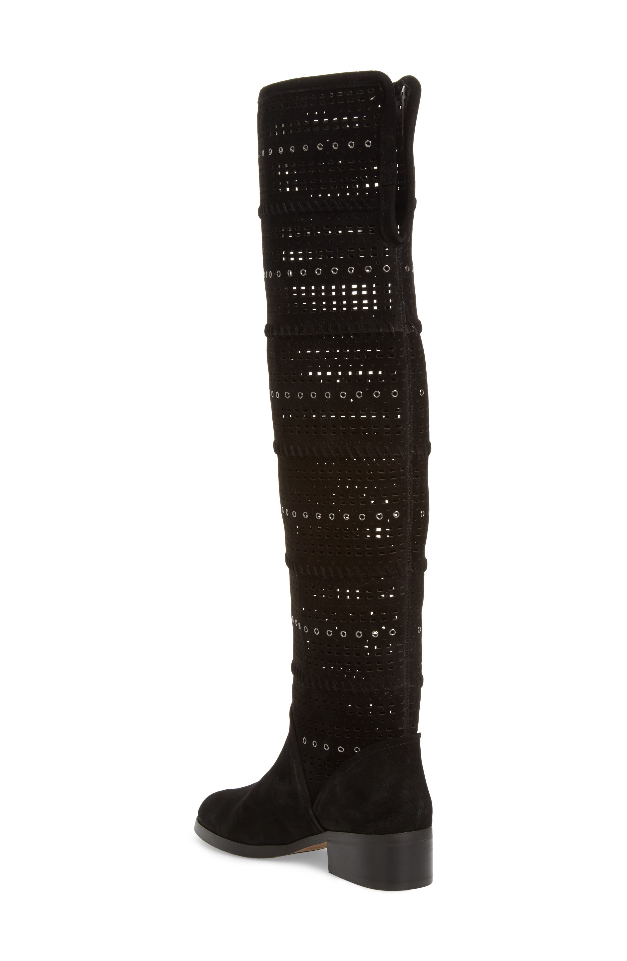 Devya Over the Knee Boot,                             Alternate thumbnail 2, color,                             001