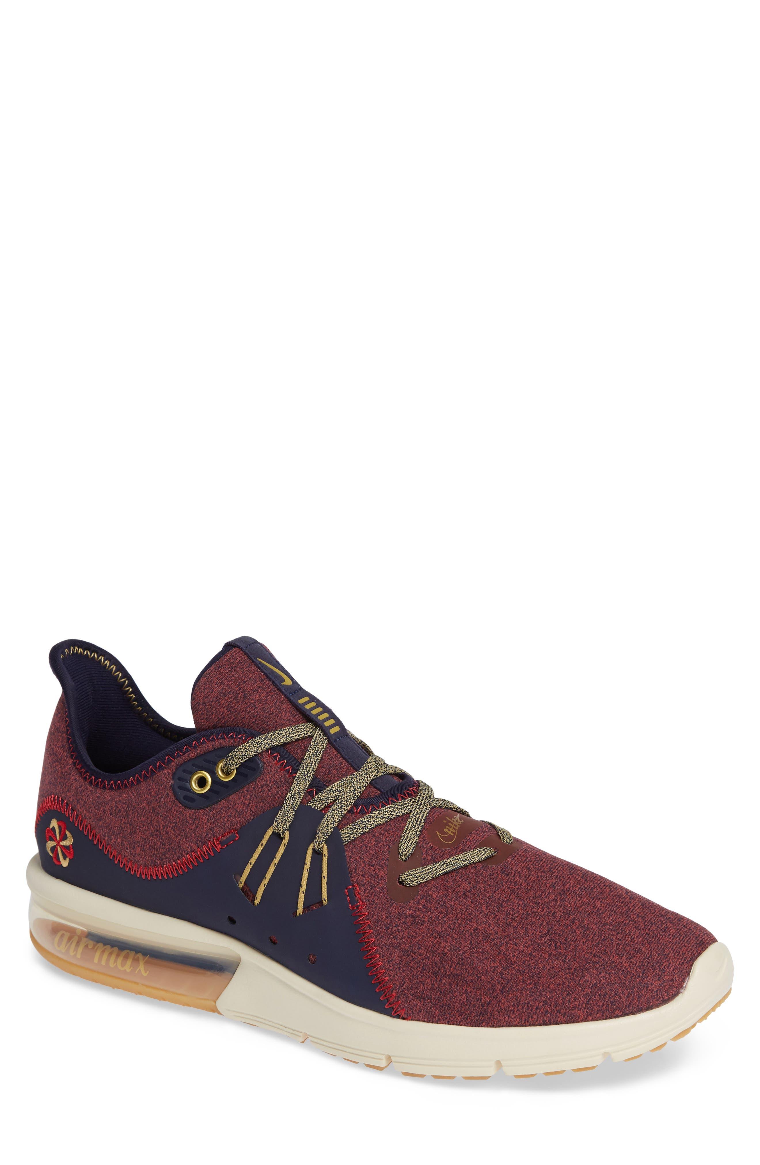 Air Max Sequent 3 PRM VST Sneaker,                         Main,                         color, 600