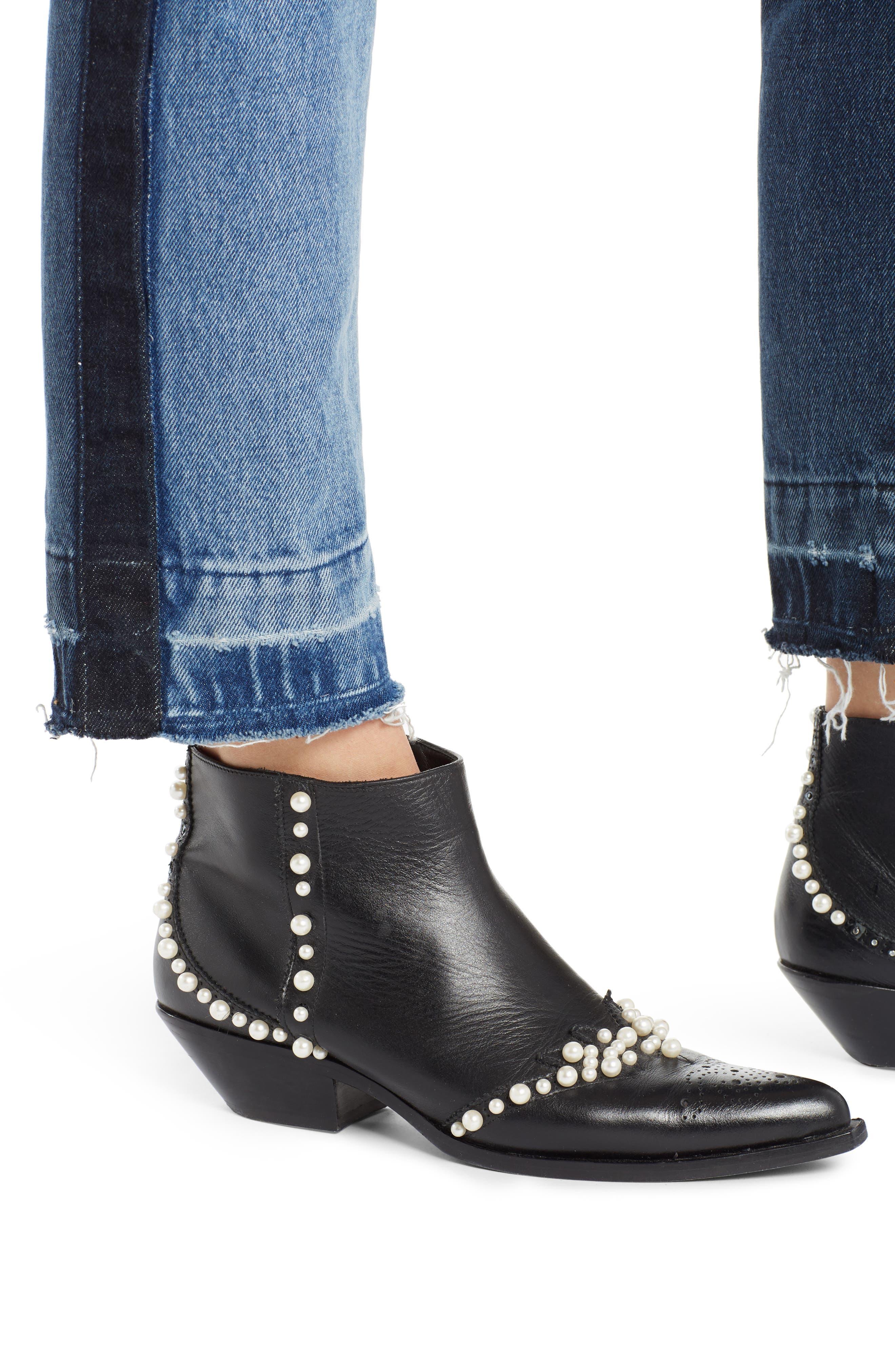 Paneled Jeans,                             Alternate thumbnail 4, color,                             400