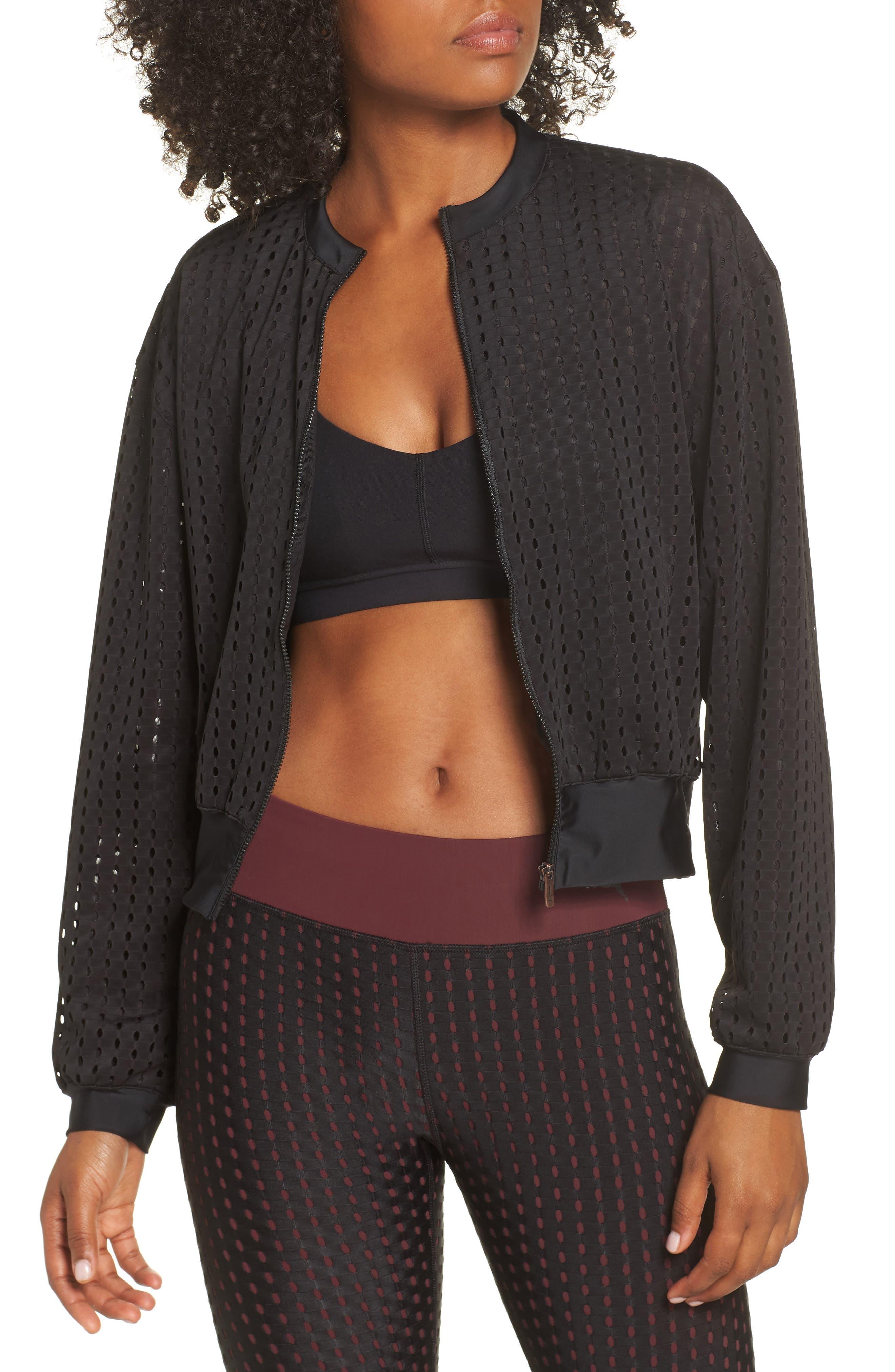 Luxe Jacket,                         Main,                         color, PUMA BLACK