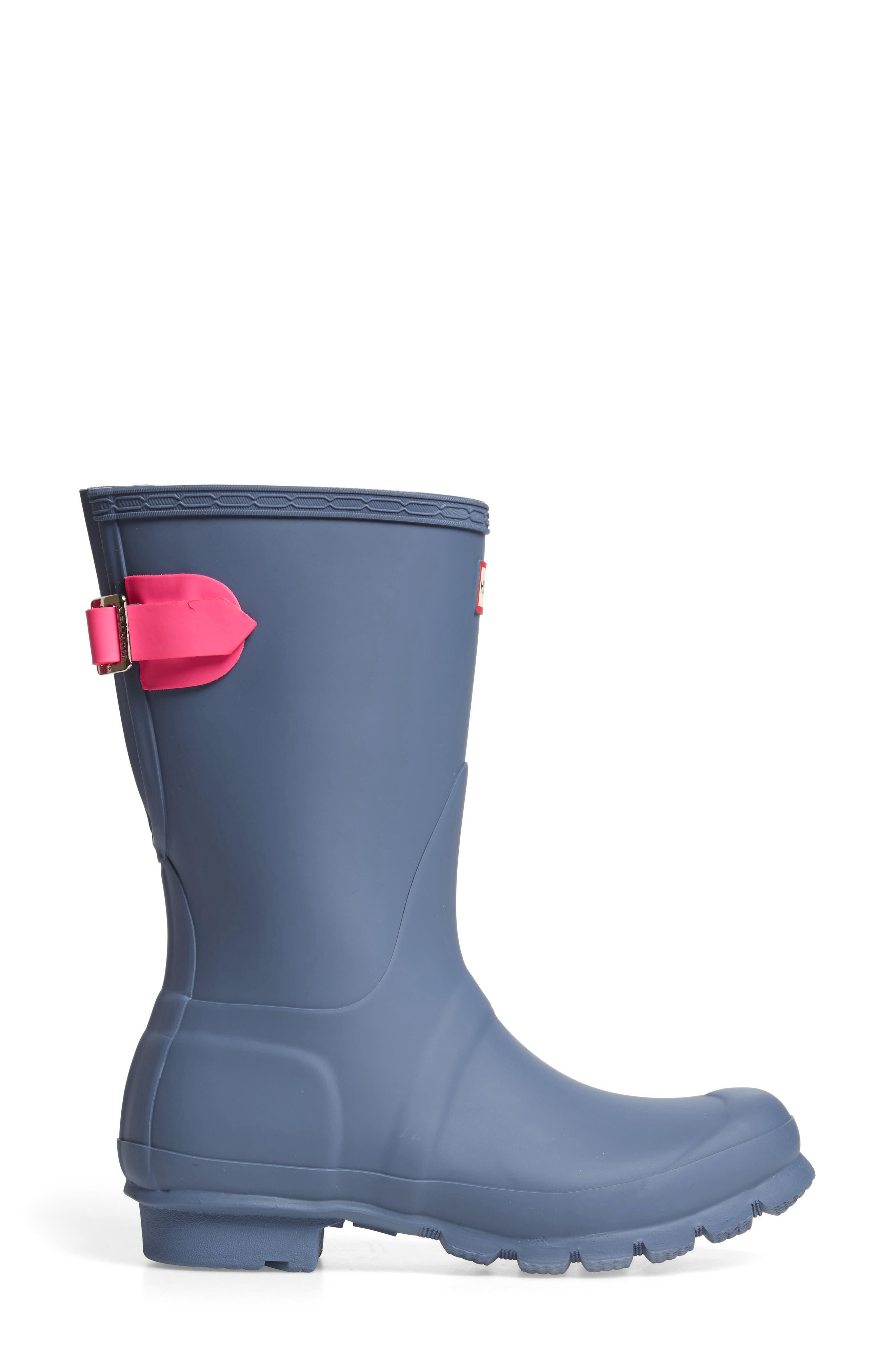 Original Short Back Adjustable Rain Boot,                             Alternate thumbnail 32, color,