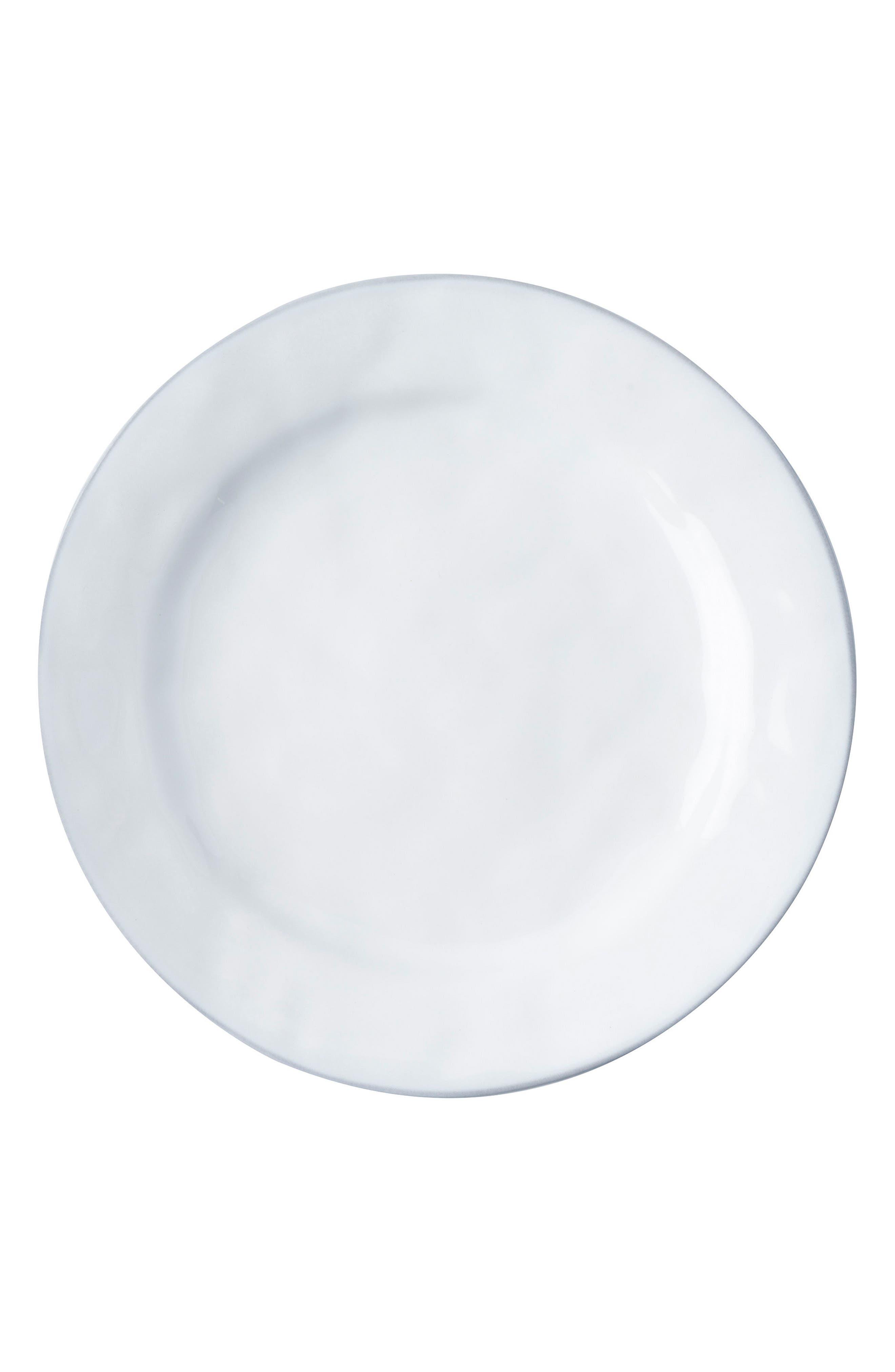 Quotidien White Truffle Ceramic Dinner Plate,                         Main,                         color, WHITE TRUFFLE