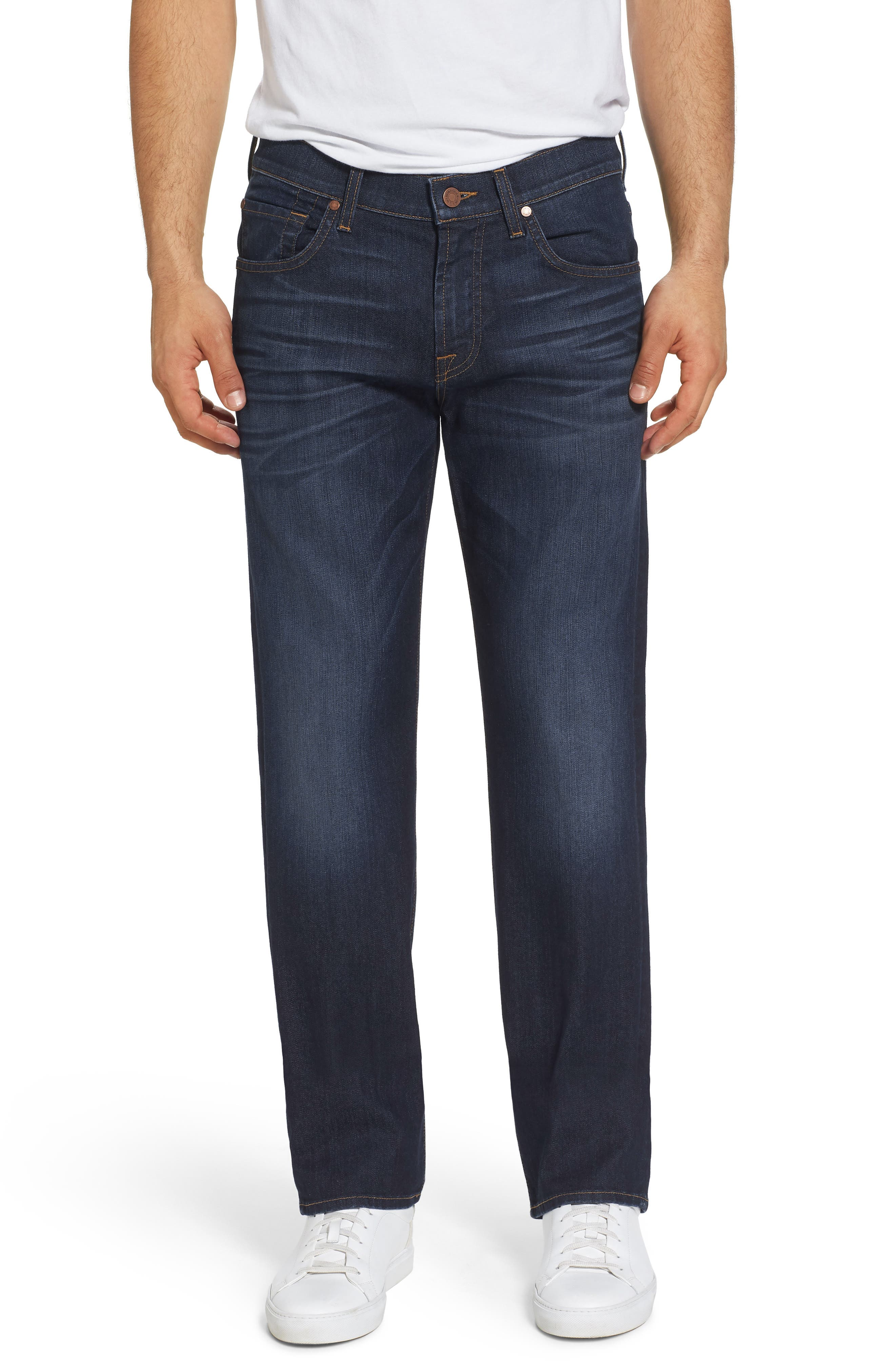 Airweft Austyn Relaxed Straight Leg Jeans,                             Main thumbnail 1, color,                             400