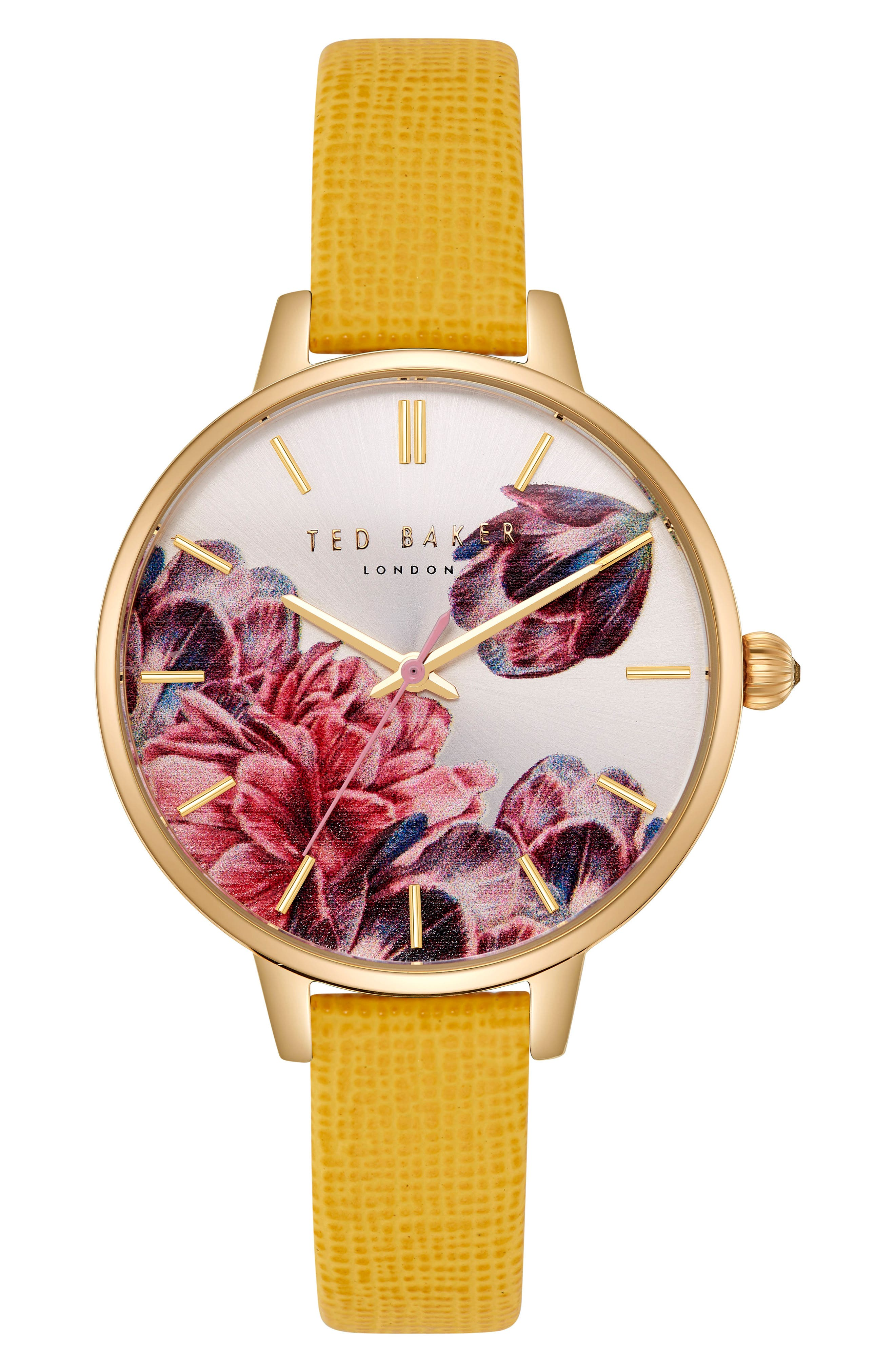 Kate Leather Strap Watch, 36mm,                             Main thumbnail 4, color,