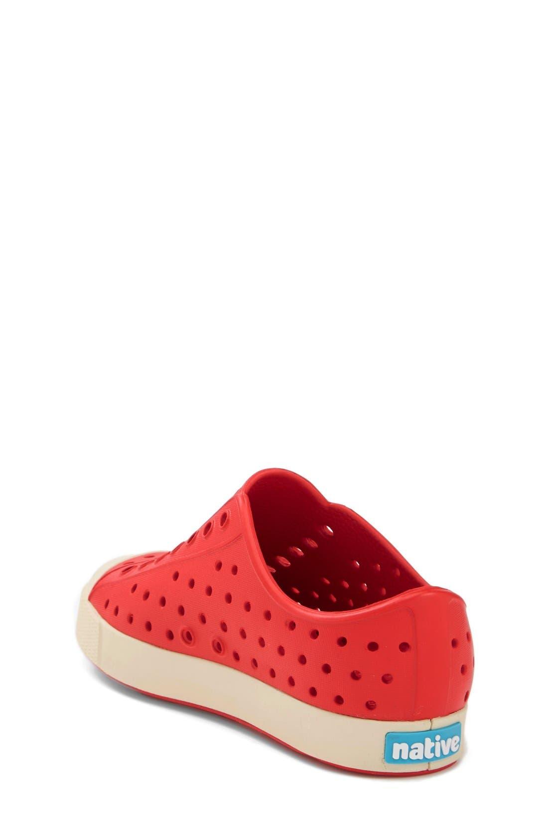 'Jefferson' Water Friendly Slip-On Sneaker,                             Alternate thumbnail 111, color,