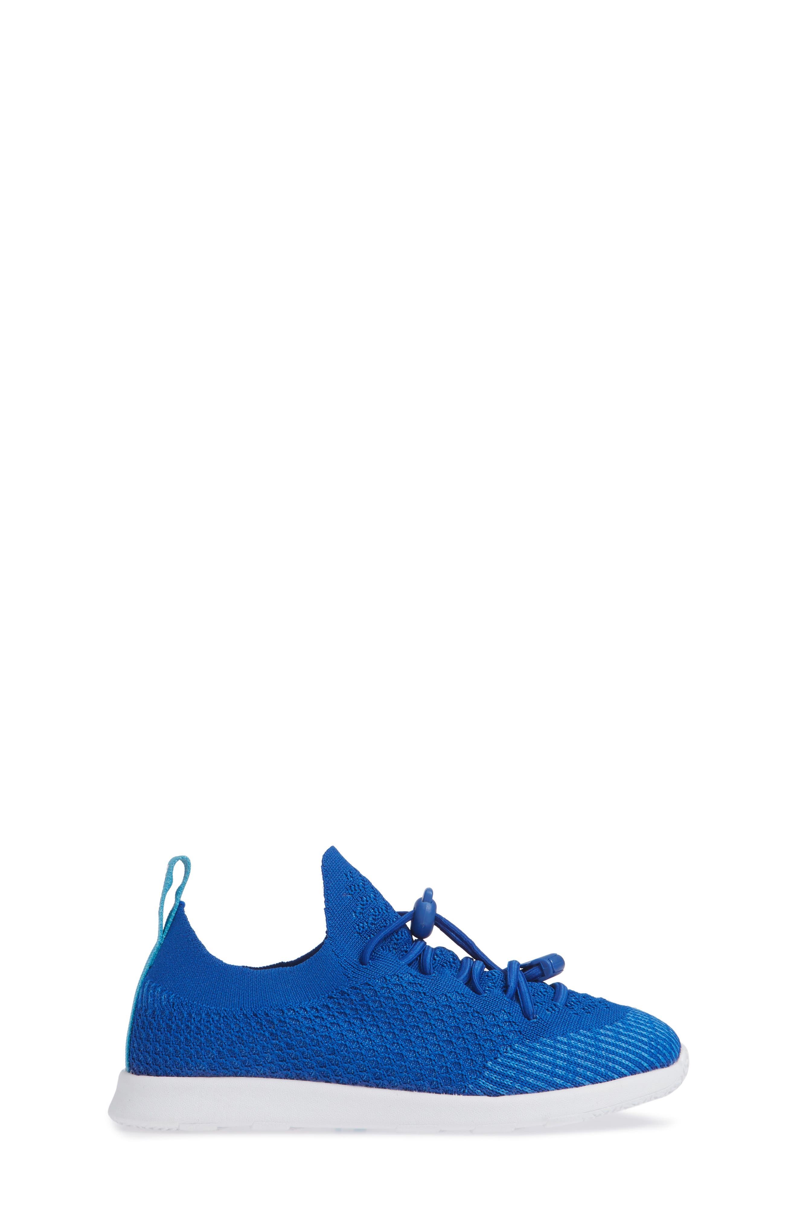AP Mercury LiteKnit Sneaker,                             Alternate thumbnail 3, color,                             VICTORIA BLUE/ SHELL WHITE