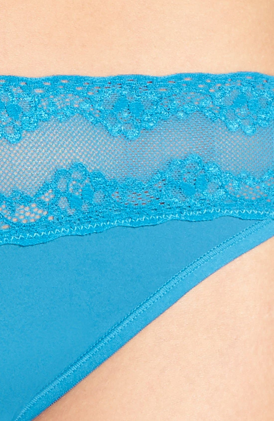 Bliss Perfection Thong,                             Alternate thumbnail 358, color,