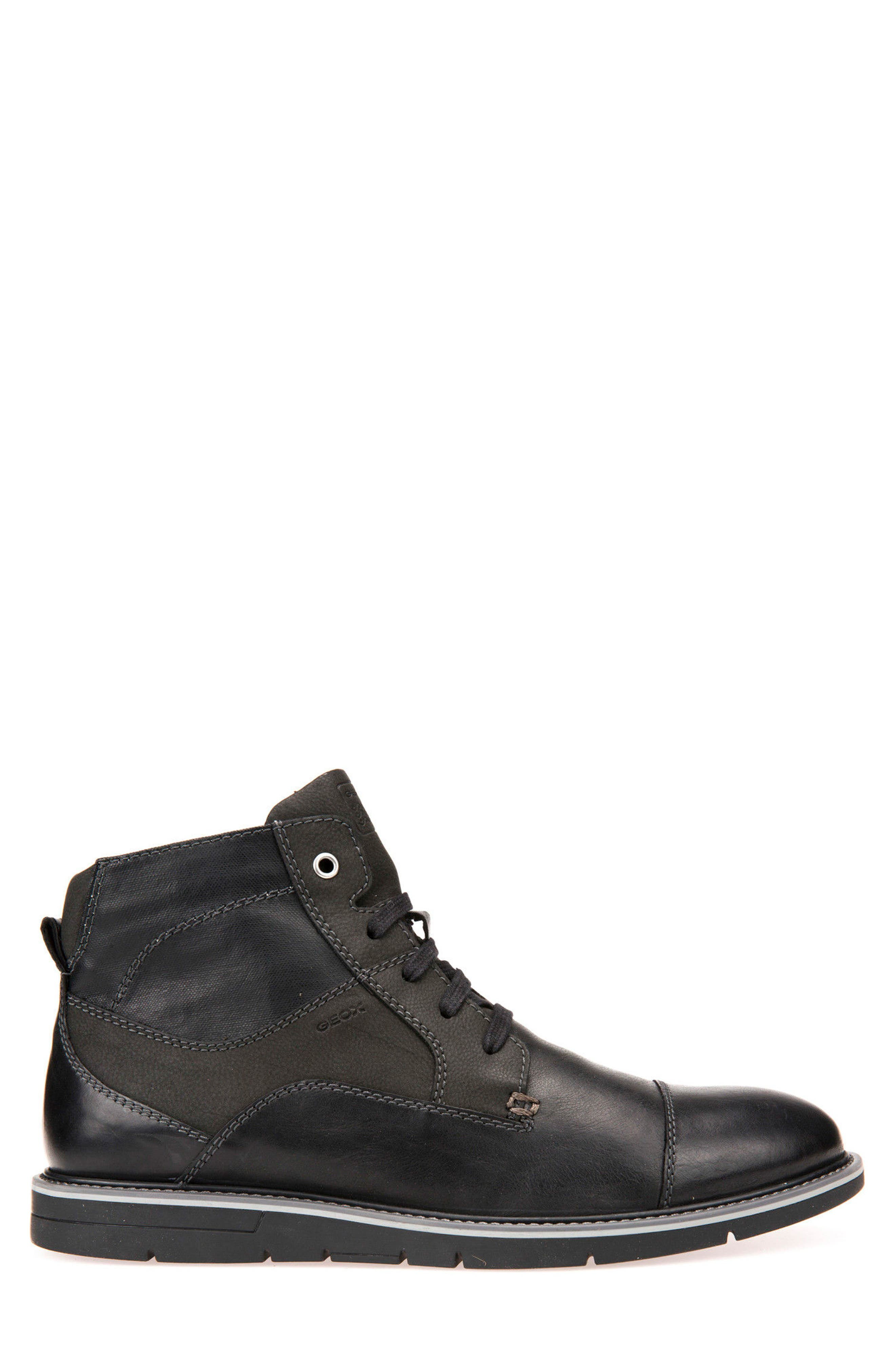Muvet 5 Cap Toe Boot,                             Alternate thumbnail 3, color,                             001