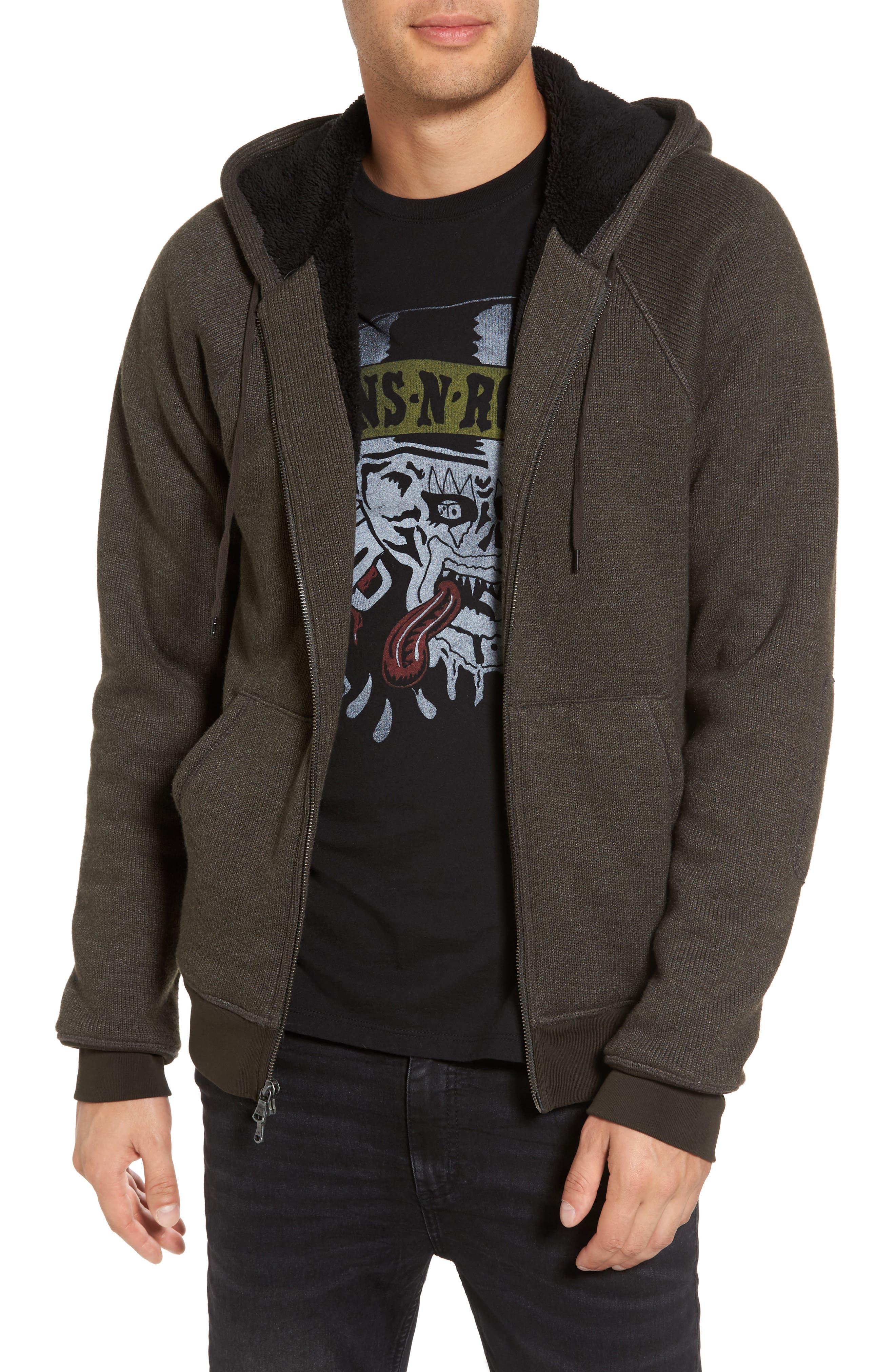 Fleece Lined Zip Hoodie,                         Main,                         color, 391