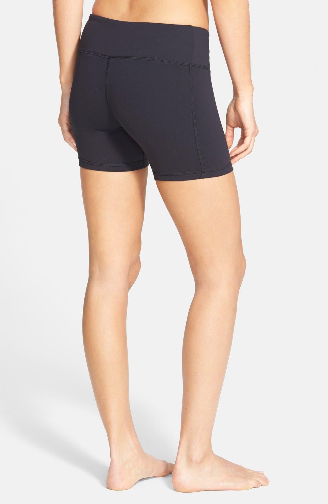'Burn' Shorts,                             Alternate thumbnail 2, color,                             BLACK