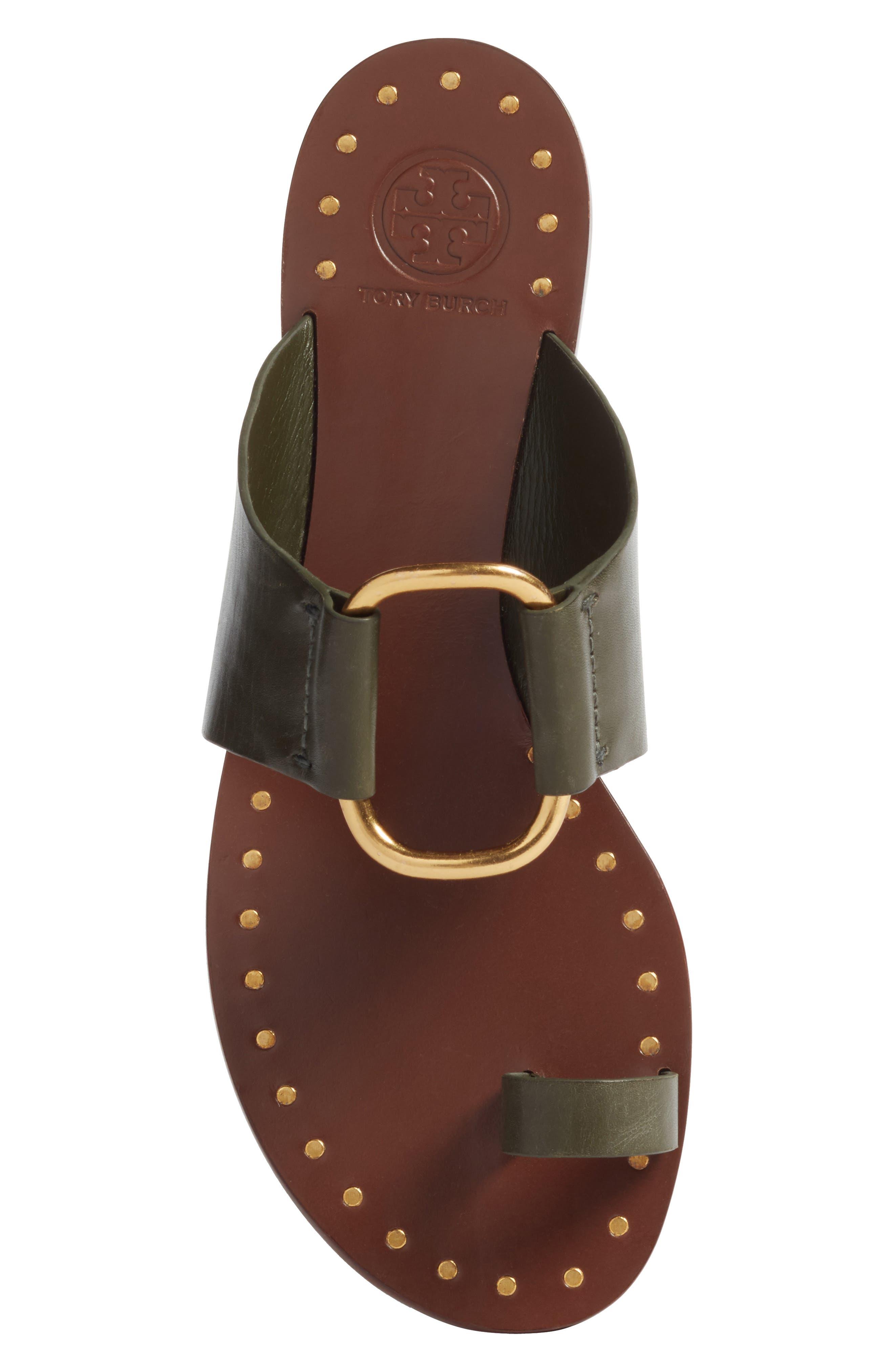 Brannan Studded Sandal,                             Alternate thumbnail 5, color,                             LECCIO