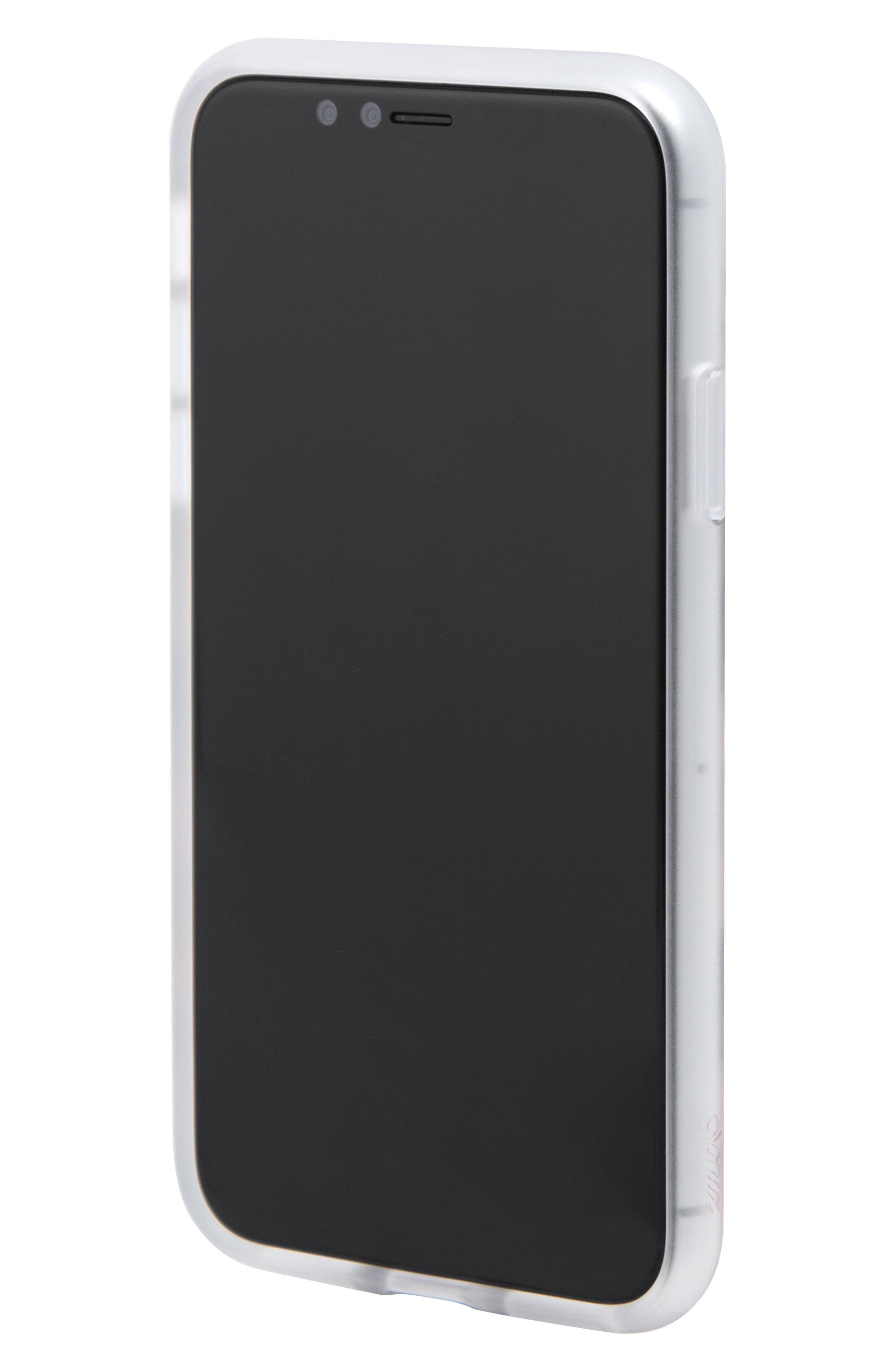 Ditsy Daisy iPhone X/Xs, XR & X Max Case,                             Alternate thumbnail 2, color,                             WHITE