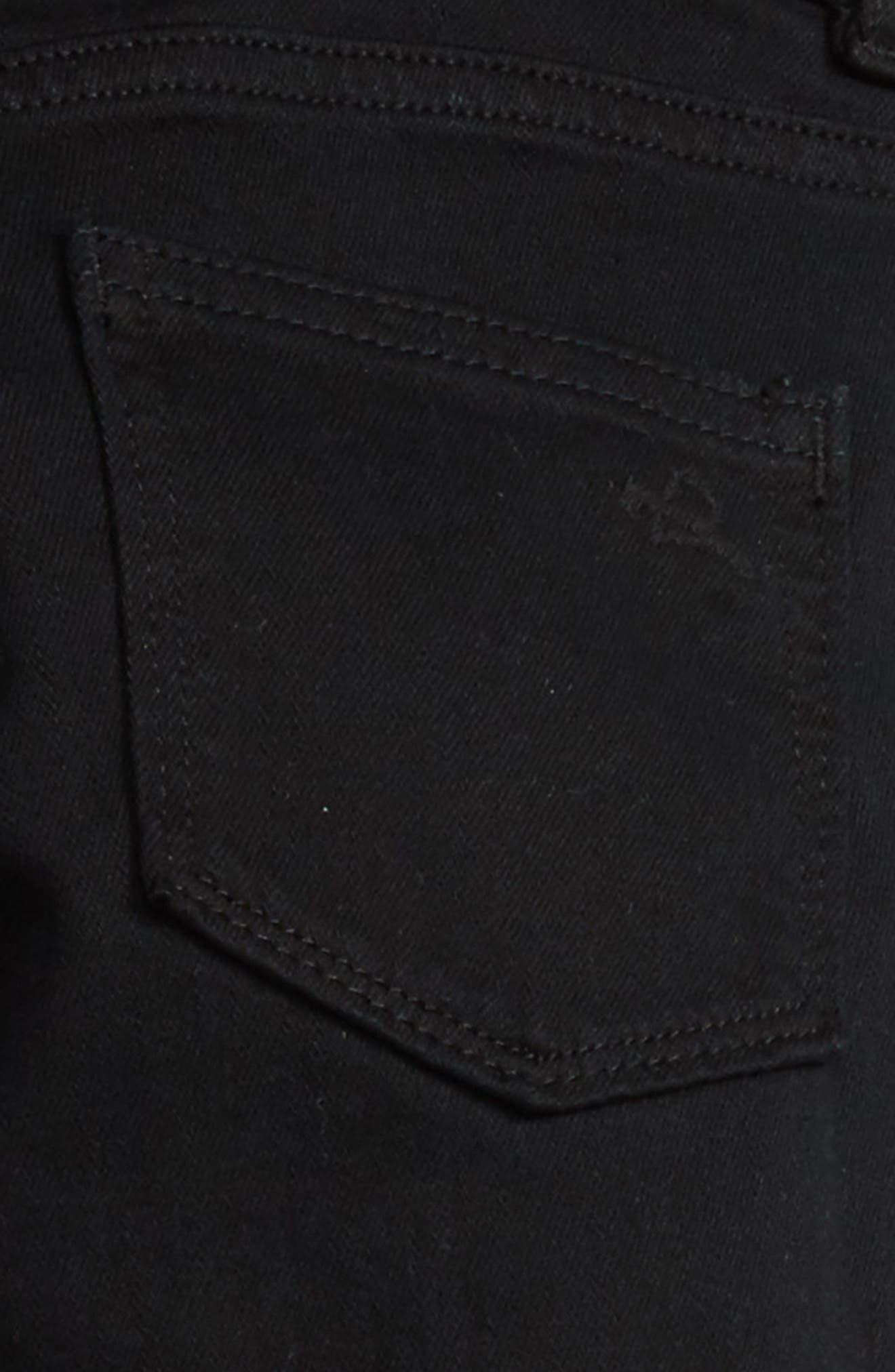 Brady Slim Fit Jeans,                             Alternate thumbnail 3, color,                             BLACK