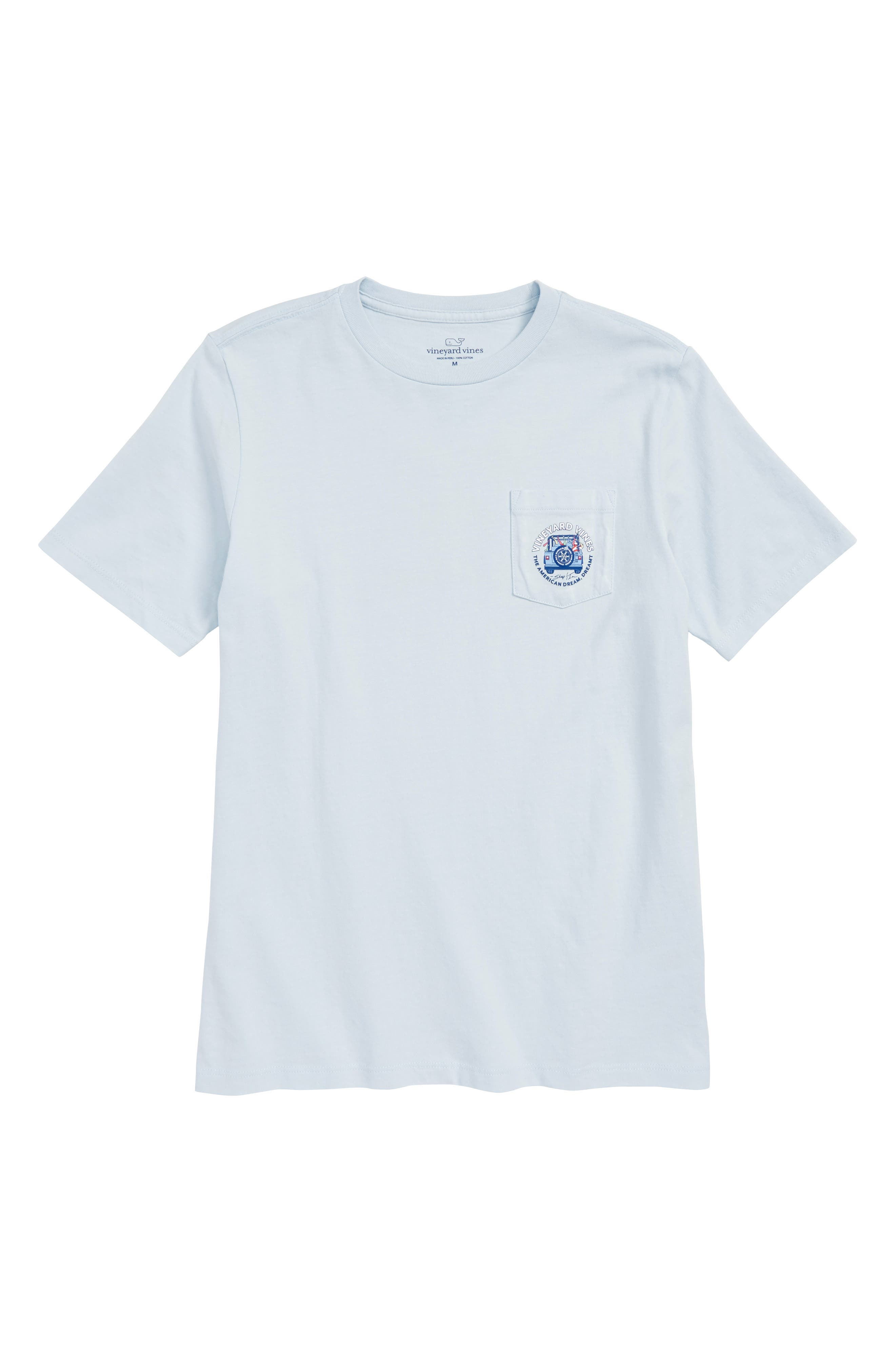 American Dream Pocket T-Shirt,                             Main thumbnail 1, color,