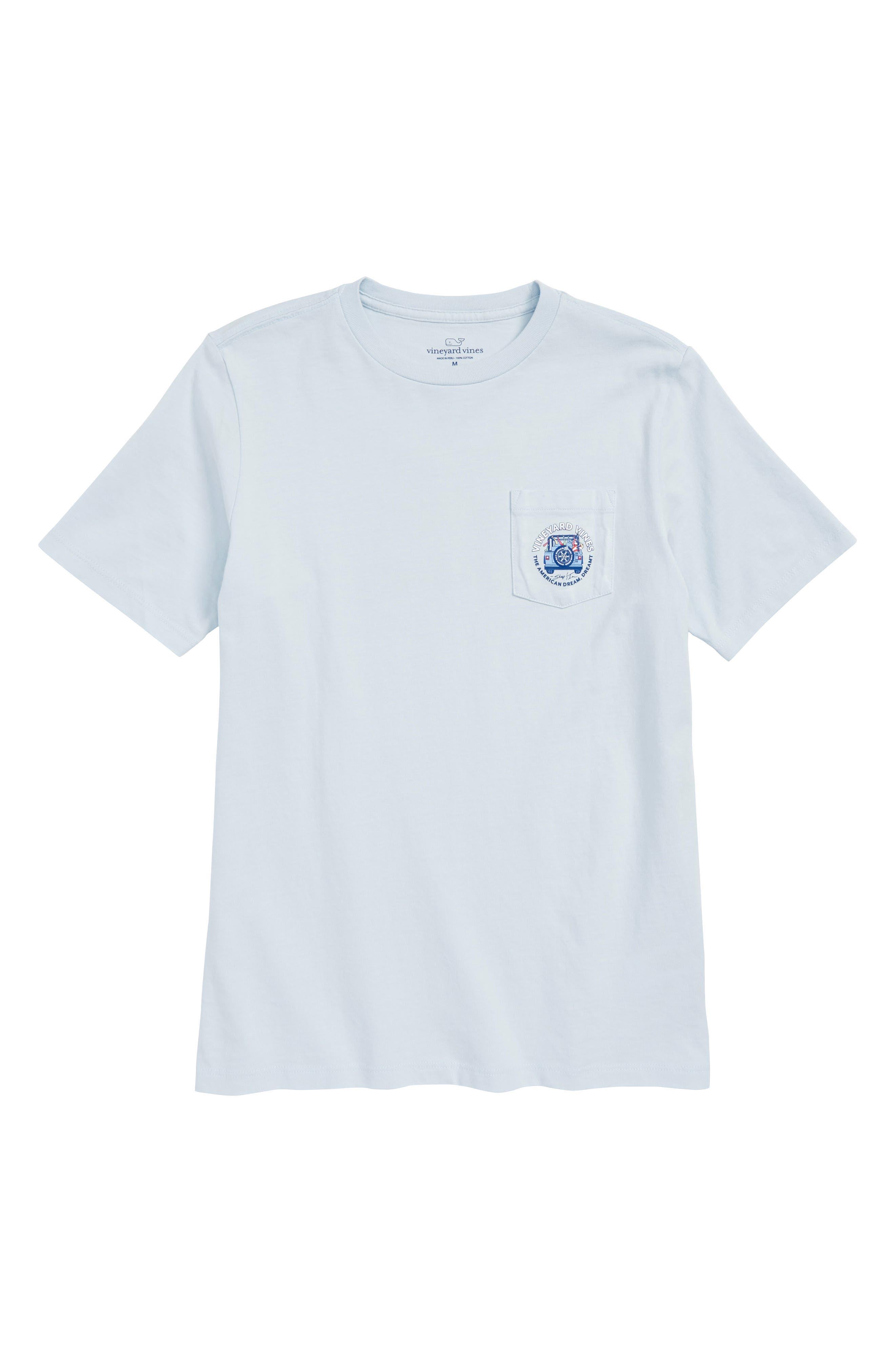American Dream Pocket T-Shirt,                         Main,                         color,