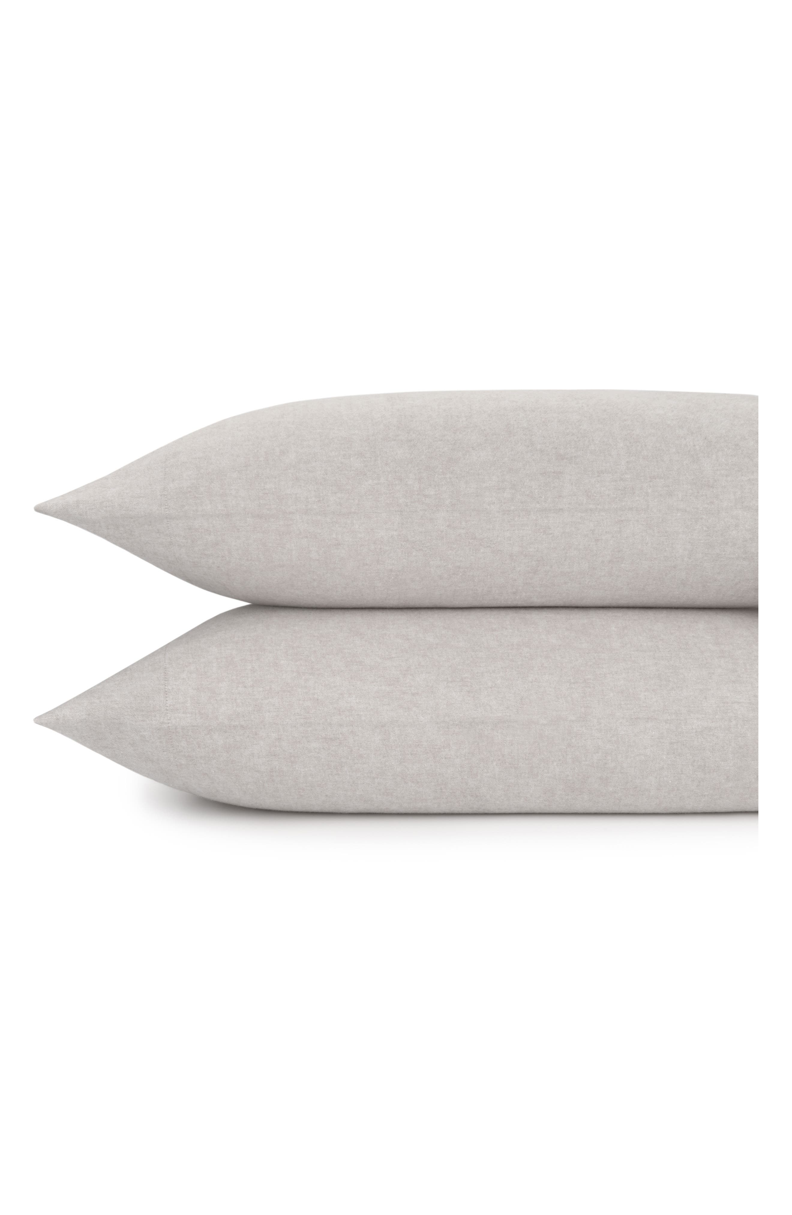 Flannel Luxe Pillowcases,                             Main thumbnail 4, color,