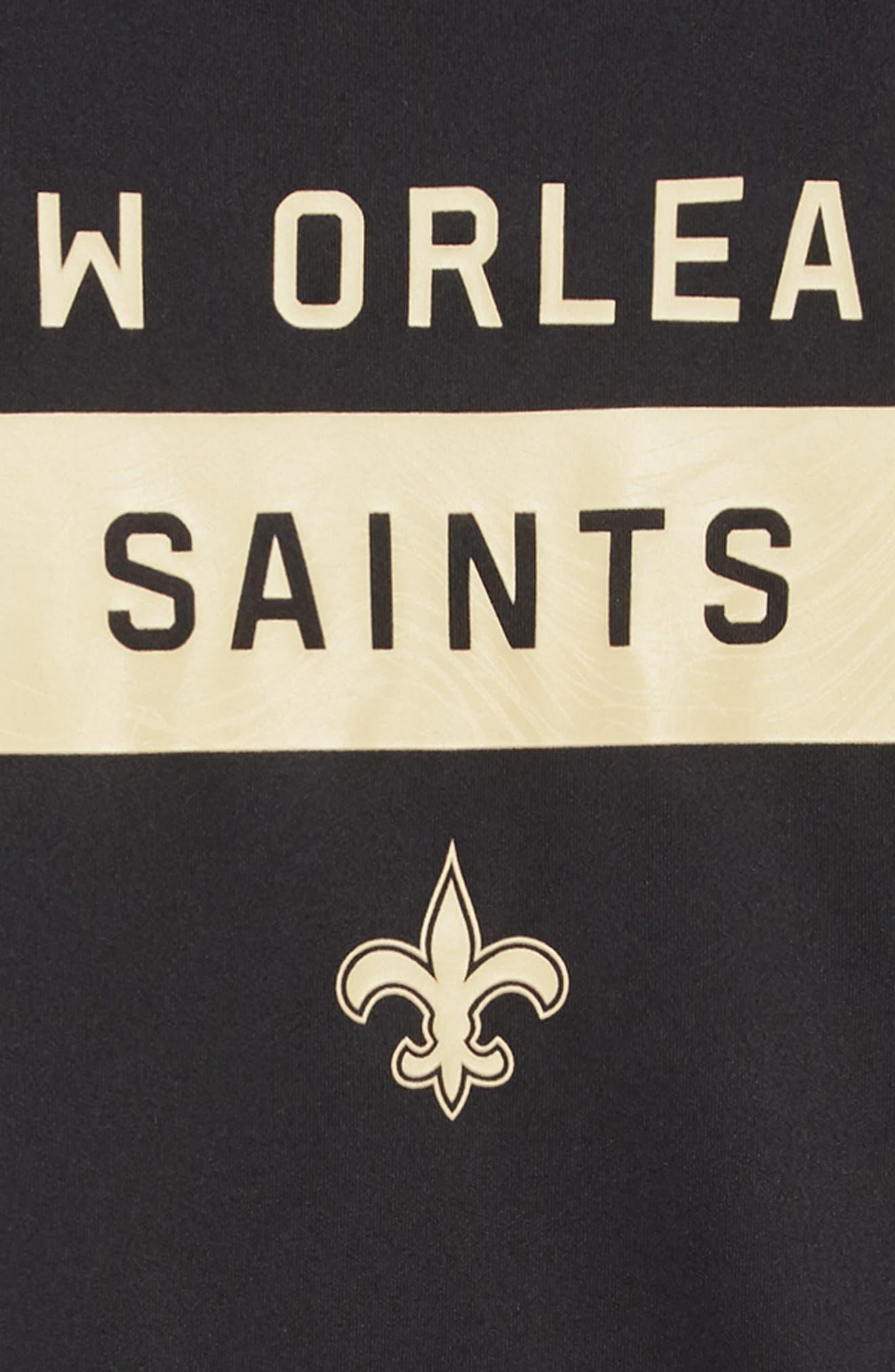 NFL New Orleans Saints Dry Legend Lift T-Shirt,                             Alternate thumbnail 2, color,                             BLACK