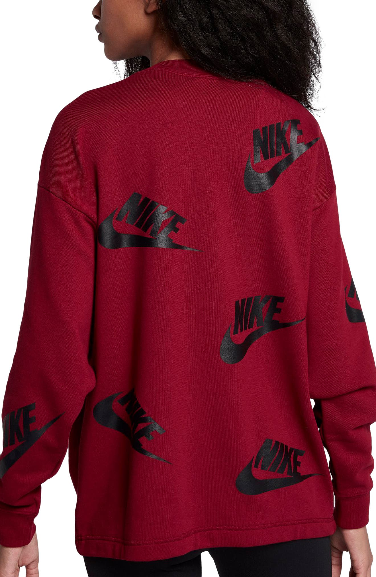 Sportswear Futura Sweatshirt,                             Alternate thumbnail 7, color,