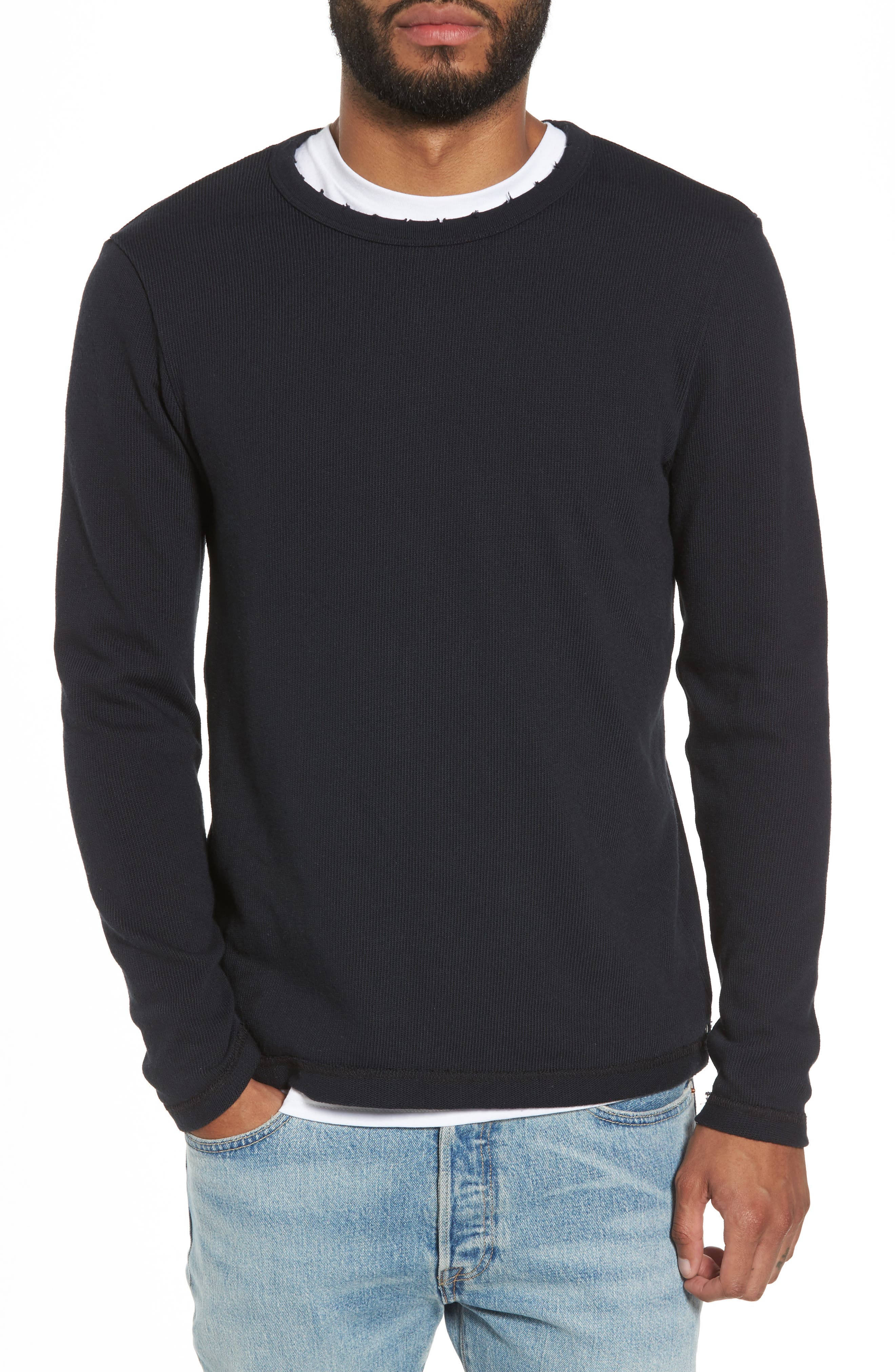 Crewneck Pullover,                             Main thumbnail 1, color,