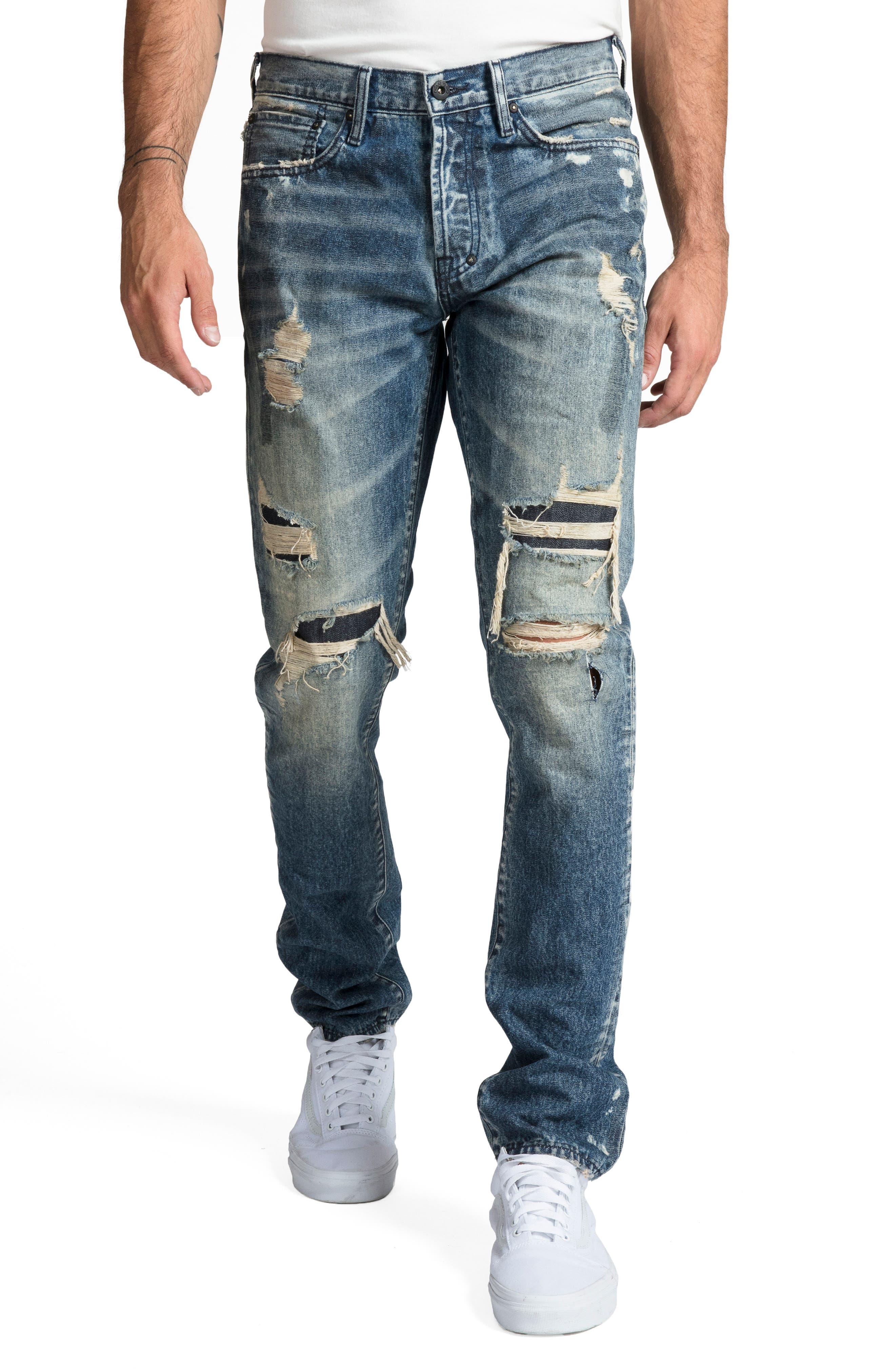 Le Sabre Slim Fit Jeans,                             Main thumbnail 1, color,                             MELODIC