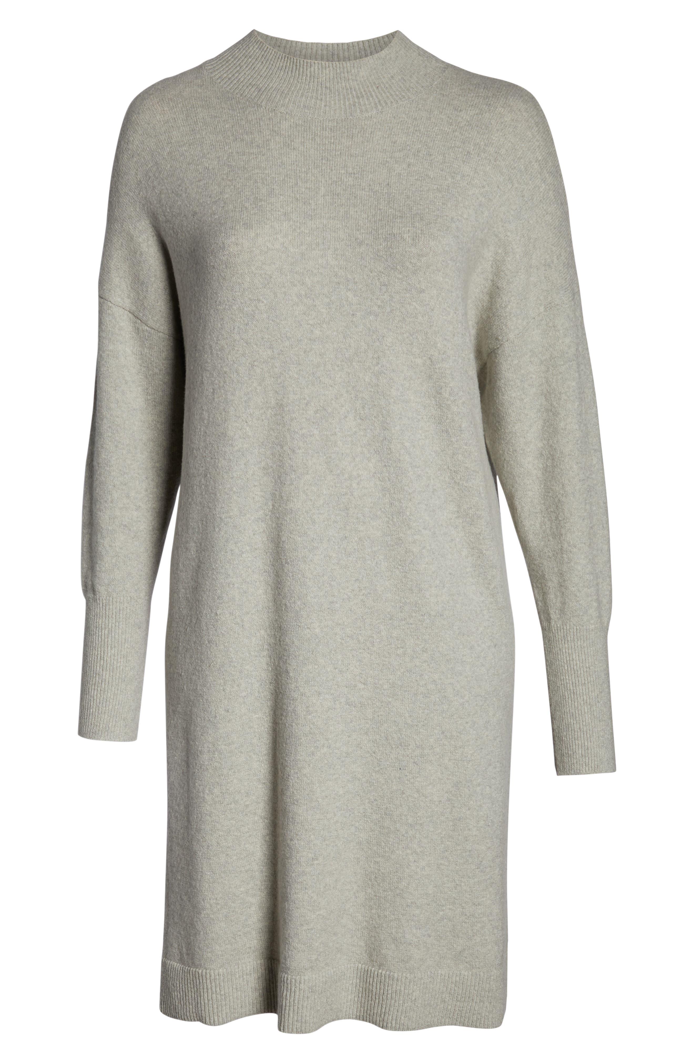 BP.,                             Mock Neck Sweater Dress,                             Alternate thumbnail 7, color,                             021