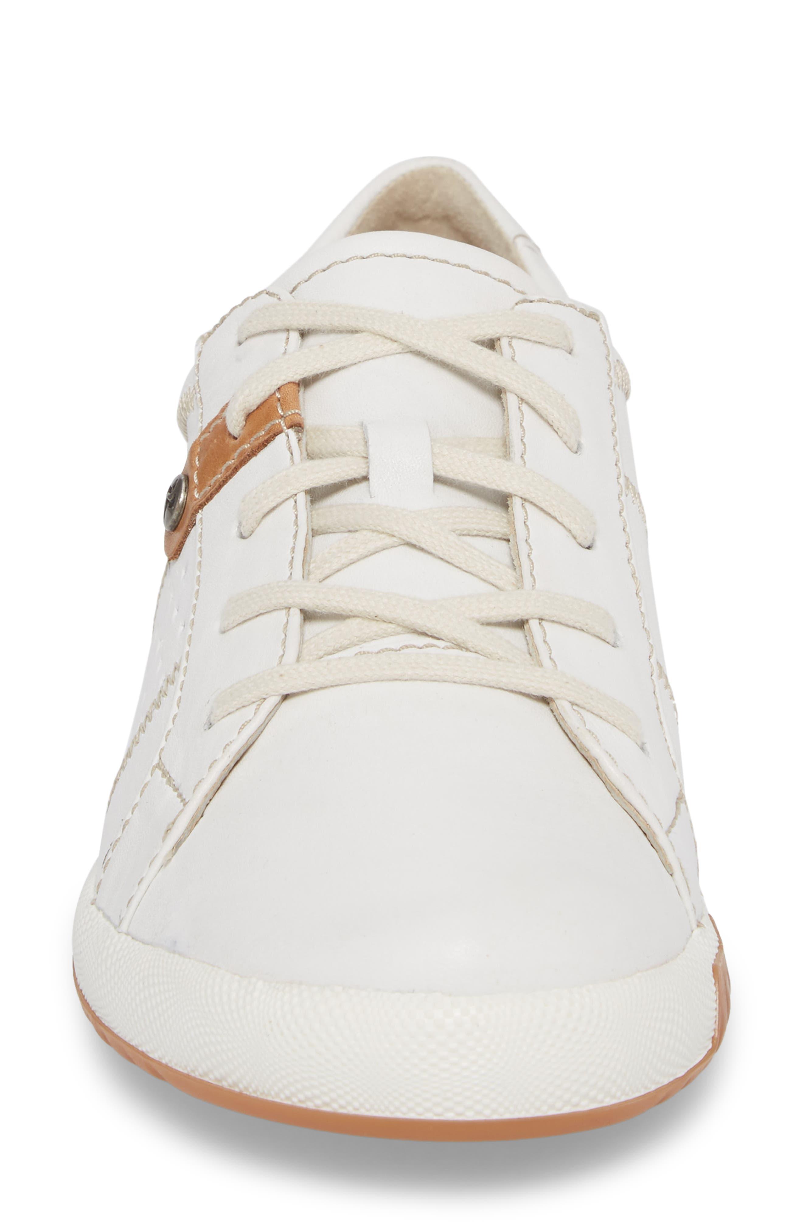 Cordoba 01 Sneaker,                             Alternate thumbnail 4, color,                             WHITE LEATHER