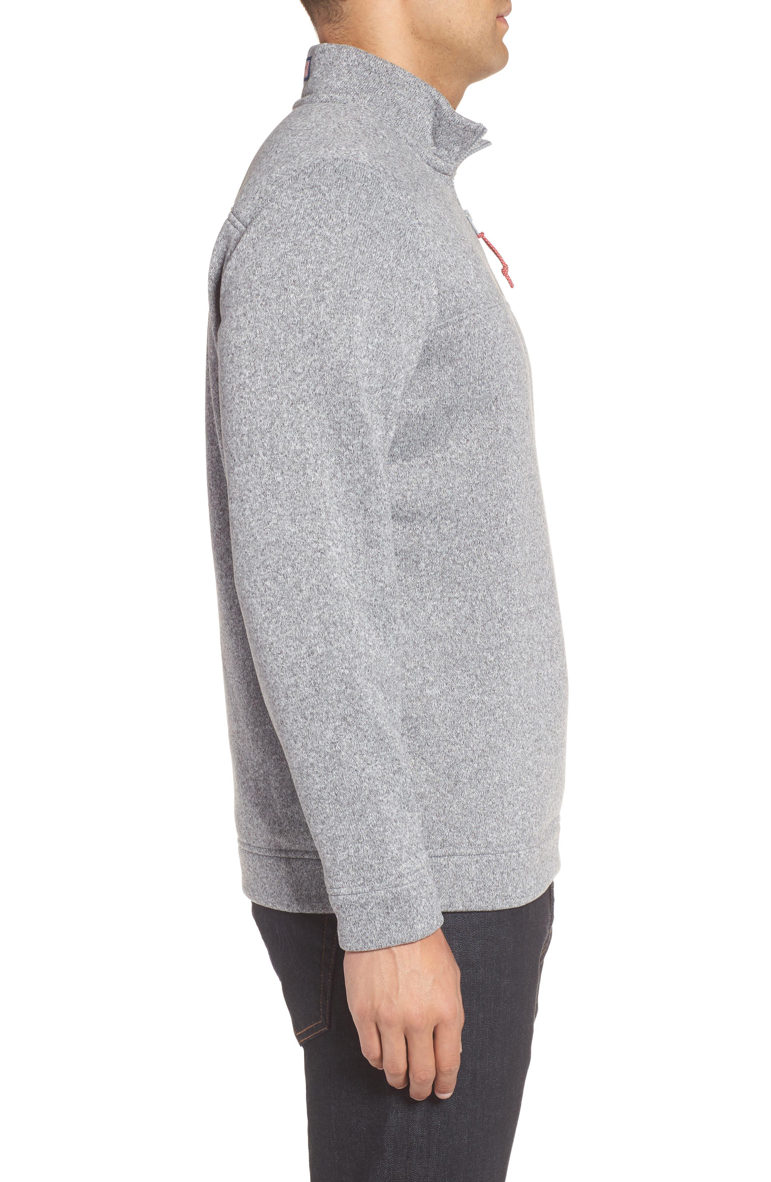 Shep Sweater Fleece Quarter Zip Pullover,                             Alternate thumbnail 5, color,