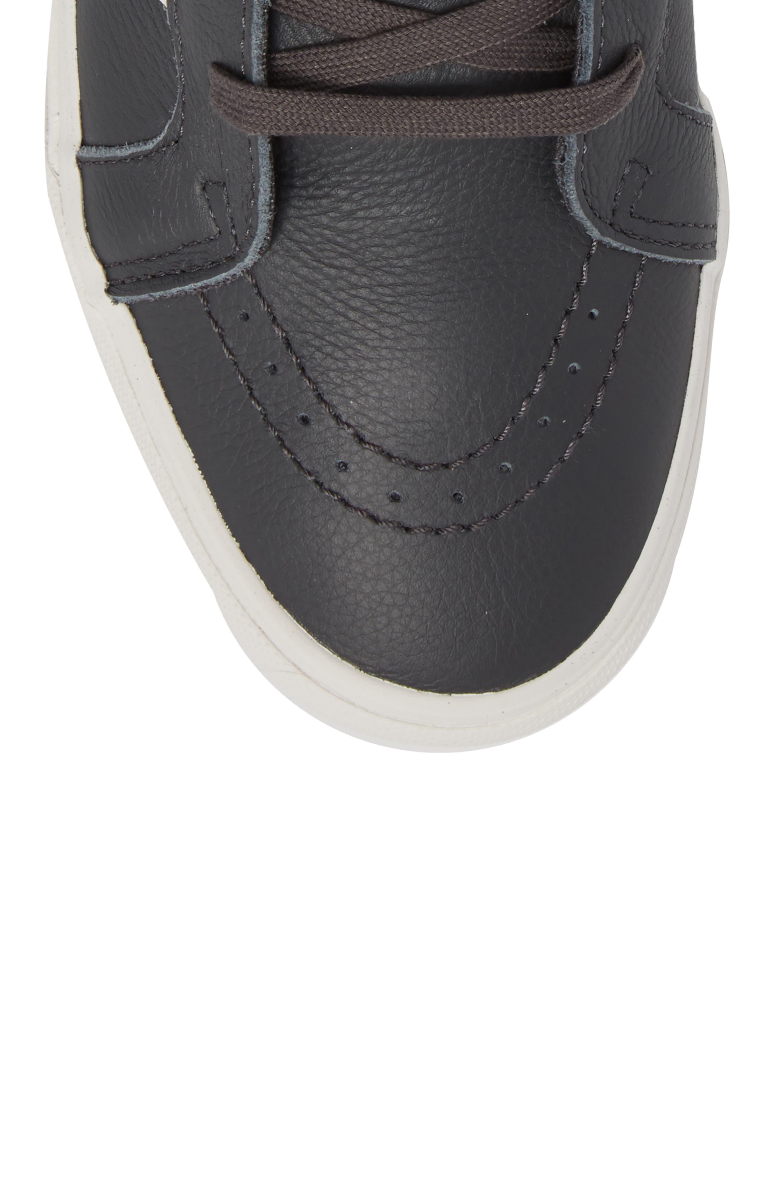 Sk8-Hi Reissue Leather Sneaker,                             Alternate thumbnail 5, color,                             020