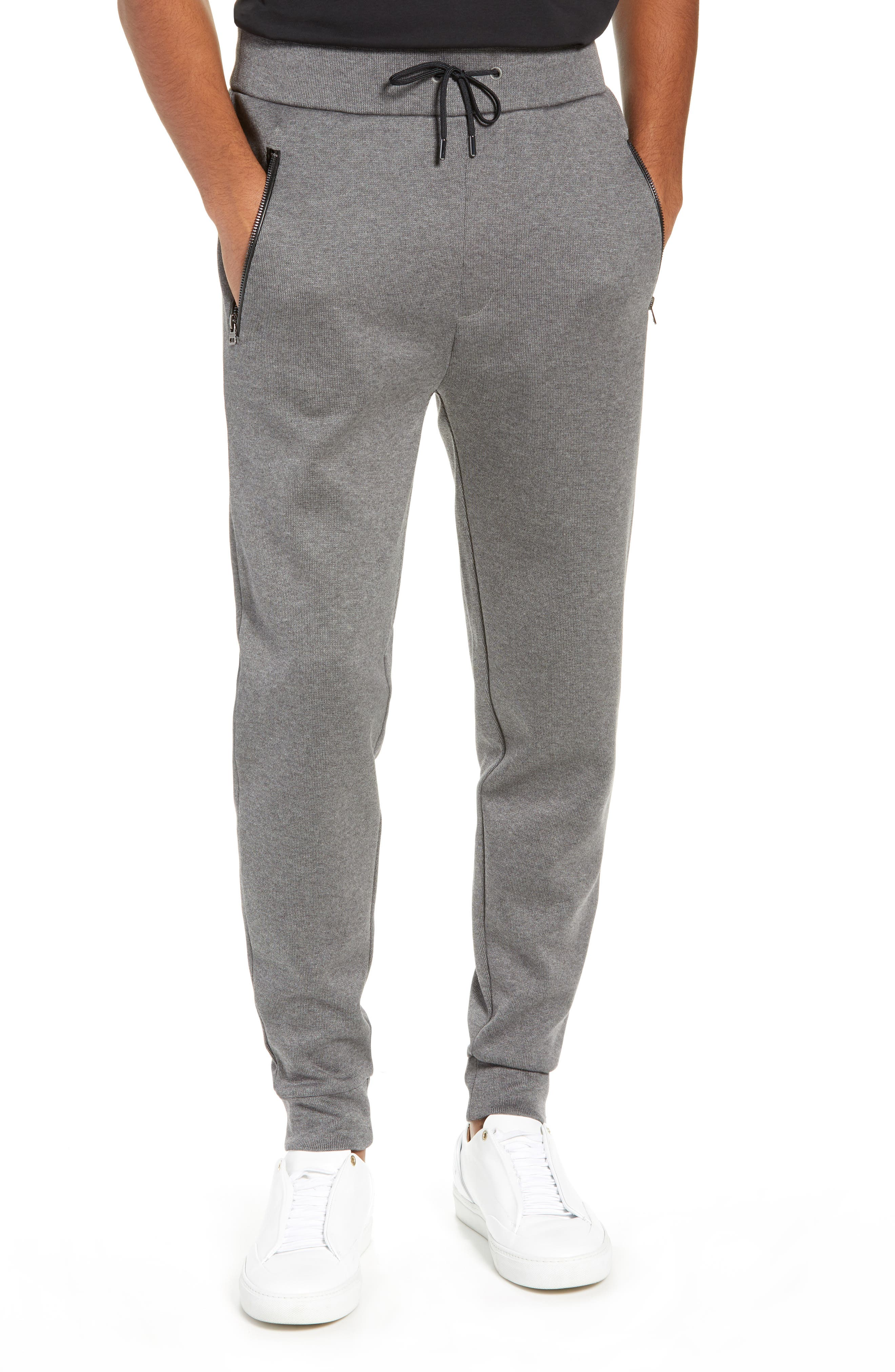 Derg Cotton Sweatpants,                         Main,                         color, GREY