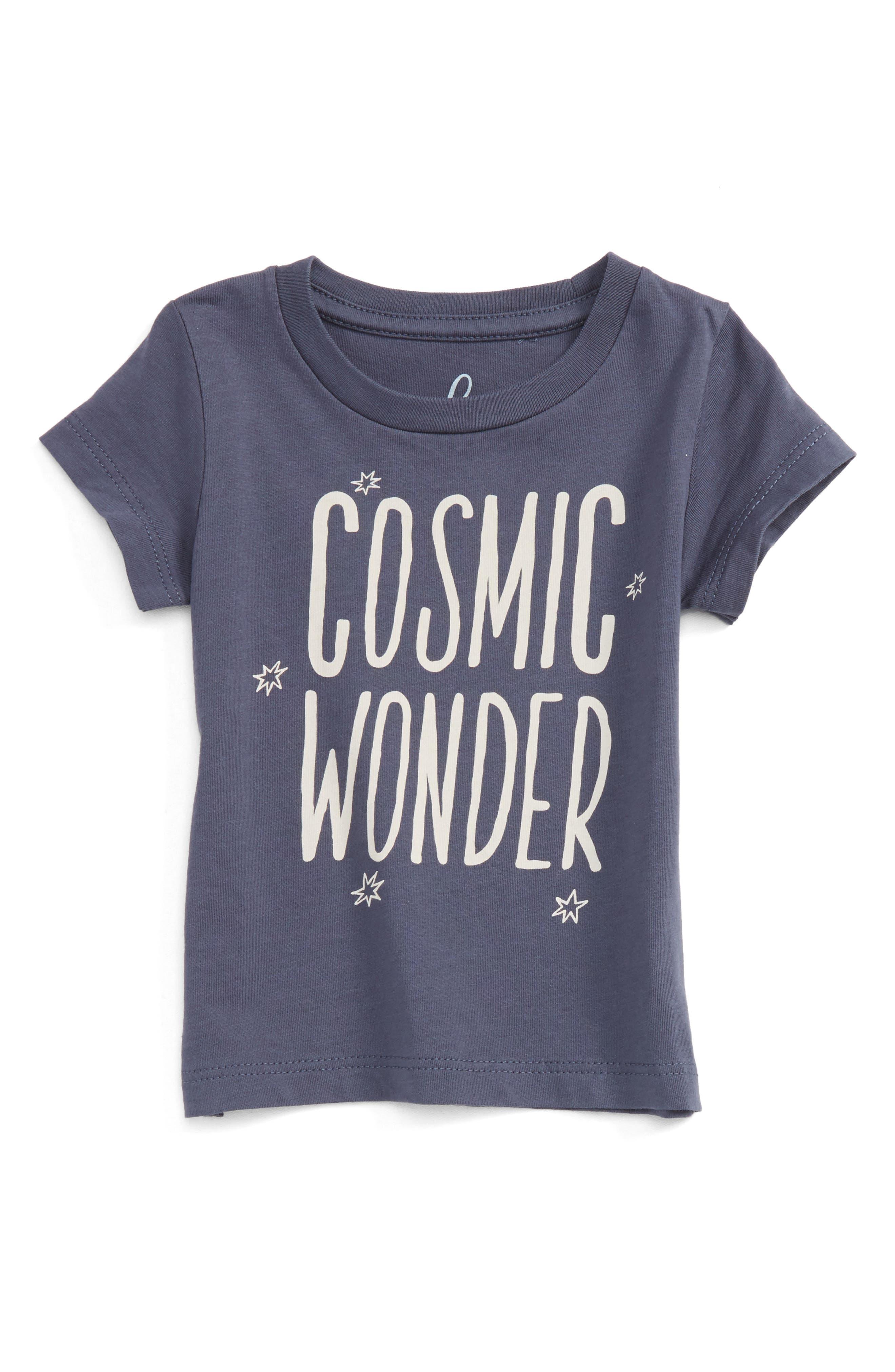 Peek Cosmic Wonder Graphic T-Shirt,                             Main thumbnail 1, color,                             410