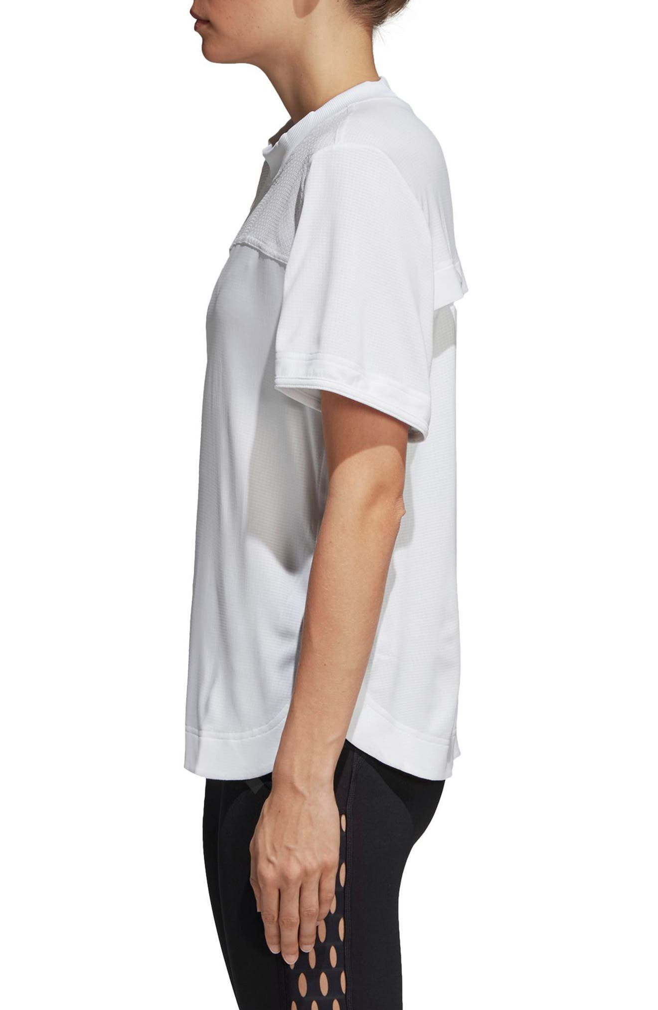 Train CLIMACHILL<sup>™</sup> Tee,                             Alternate thumbnail 3, color,                             WHITE