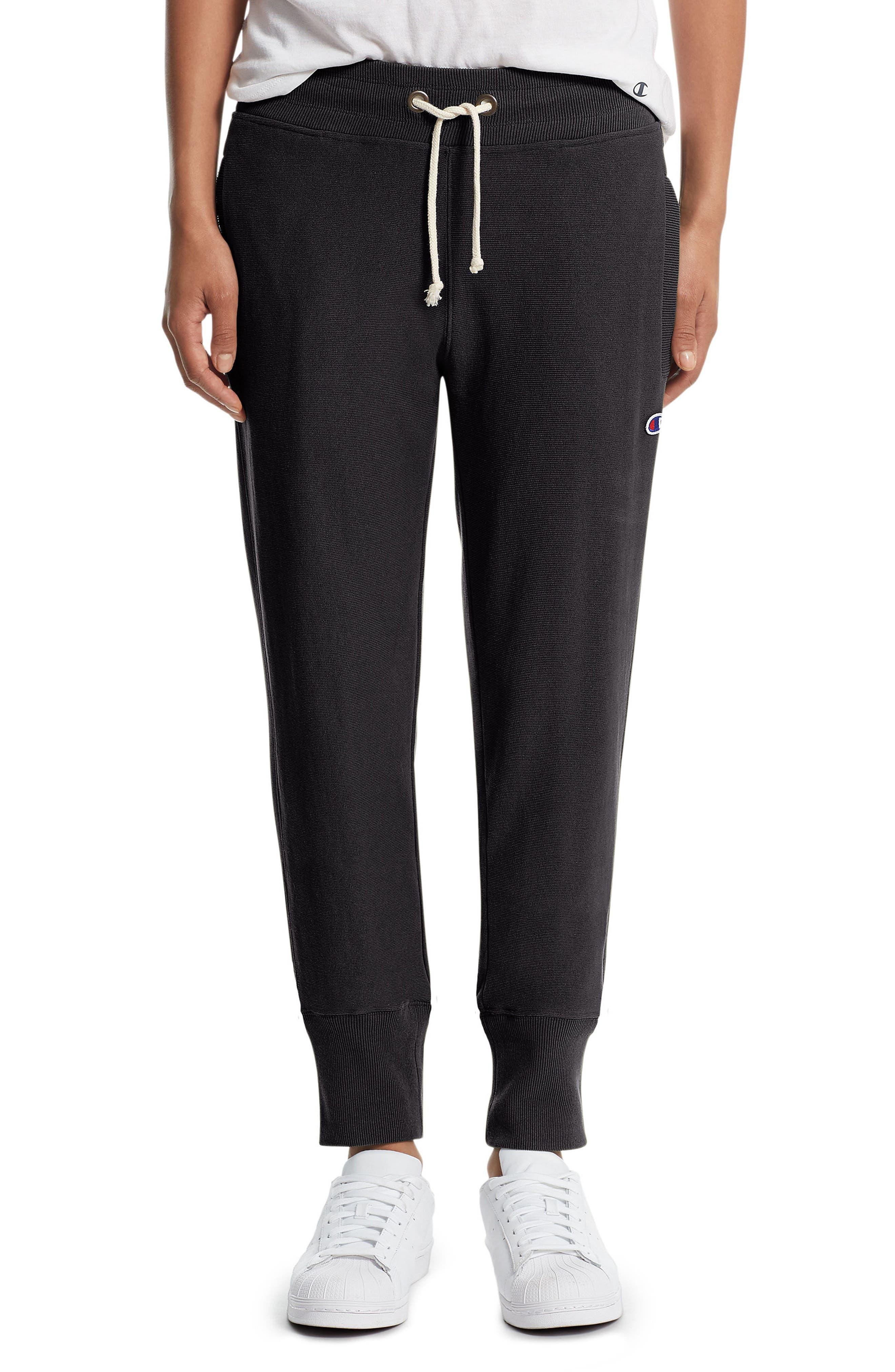 Reverse Weave<sup>®</sup> Jogger Pants,                         Main,                         color, 001