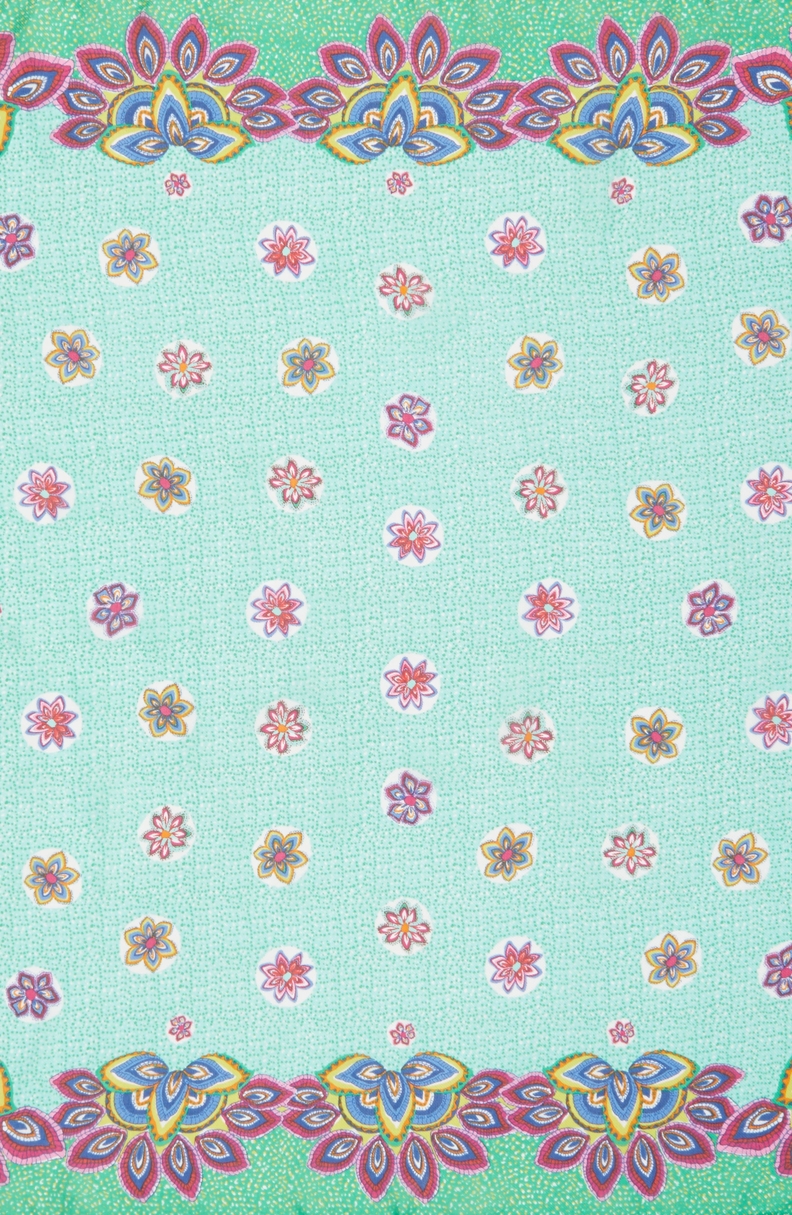 San Lazaro Silk Scarf,                             Alternate thumbnail 13, color,
