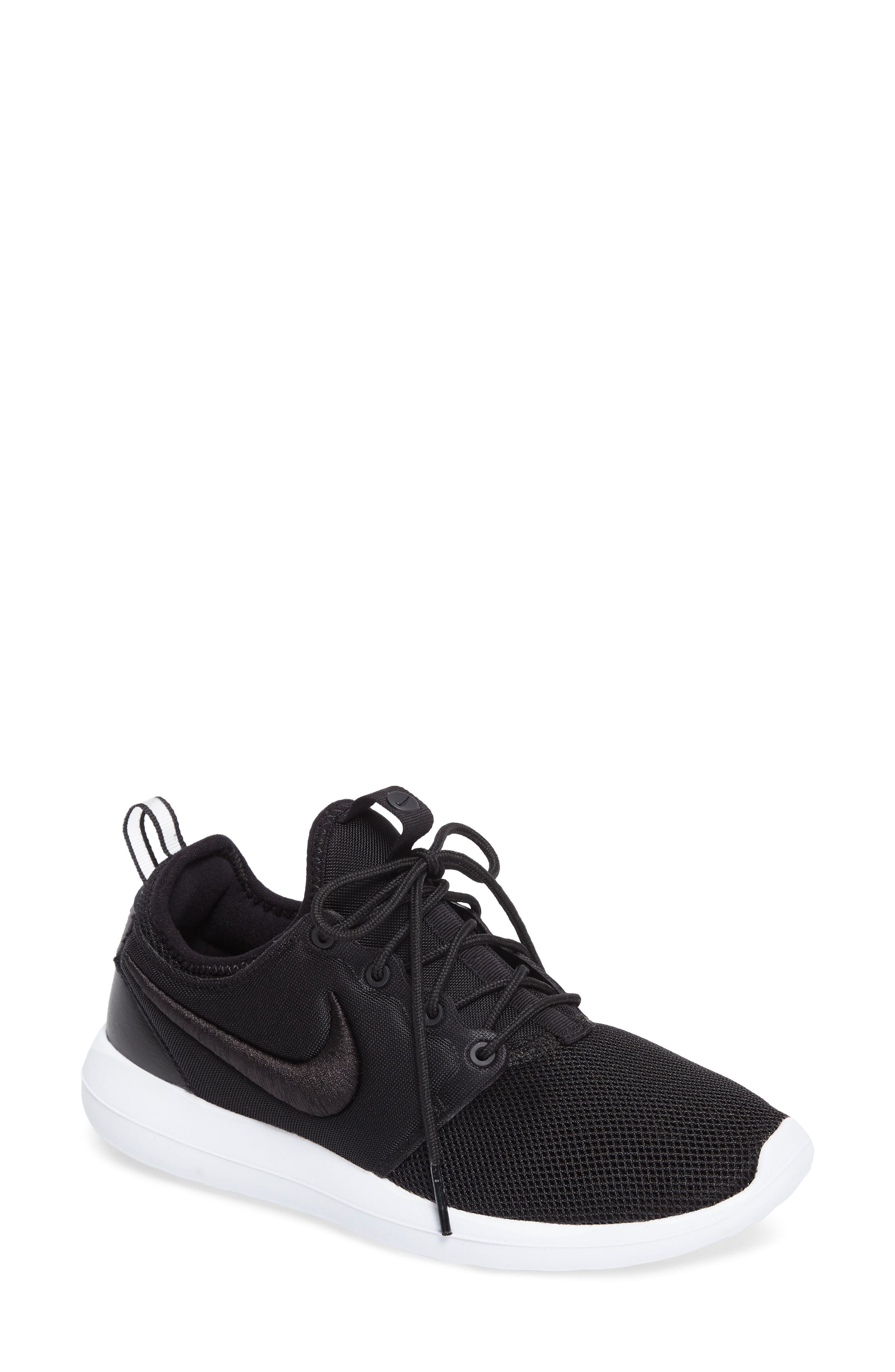 Roshe Two Breathe Sneaker,                             Main thumbnail 1, color,                             001
