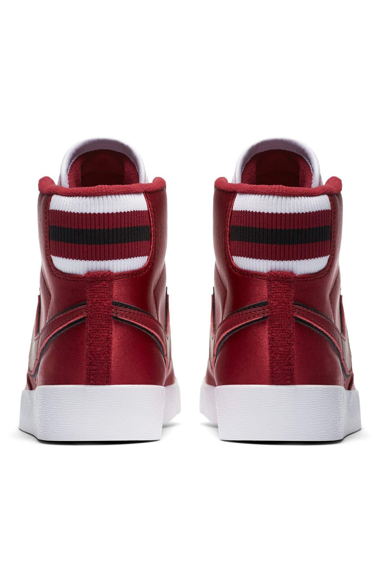 Blazer Mid Top Sneaker,                             Alternate thumbnail 2, color,                             RED CRUSH/ WHITE/ BLACK