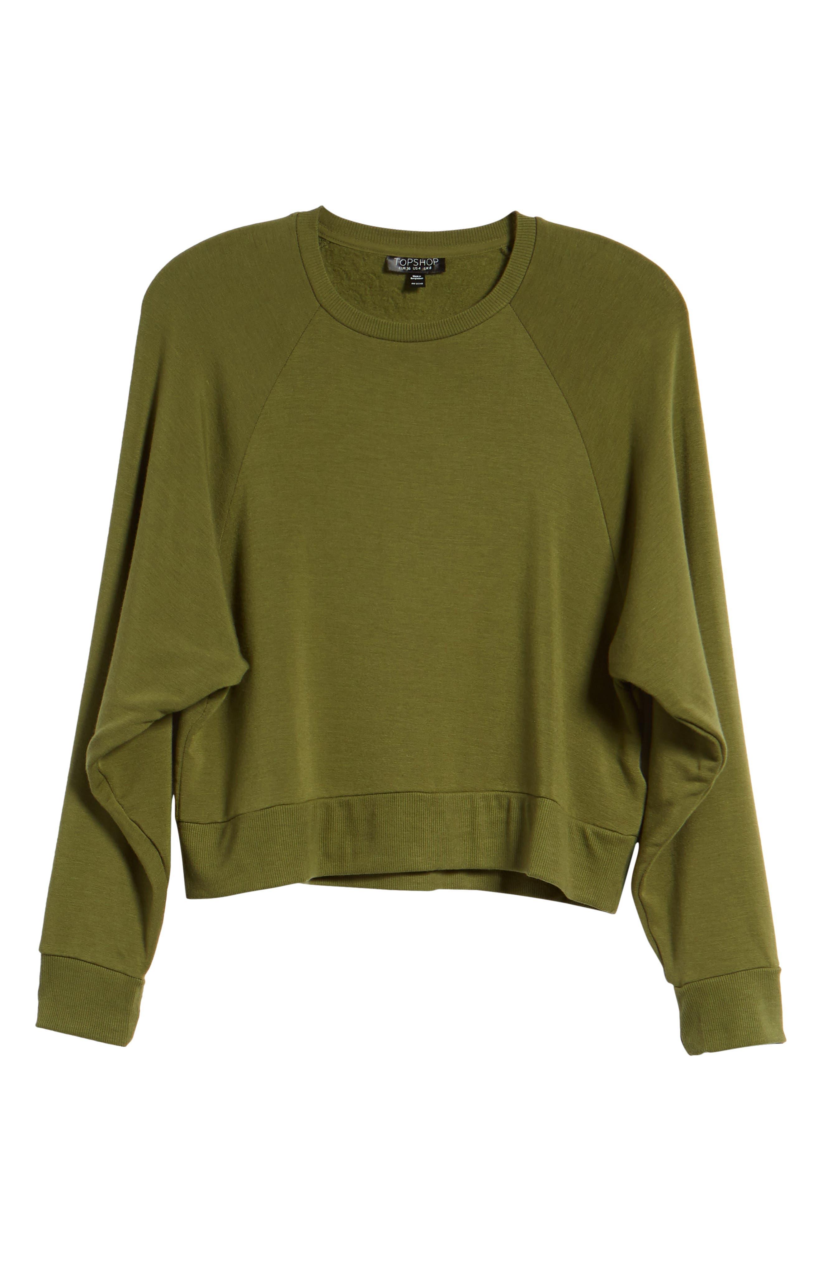 Raglan Sweatshirt,                             Alternate thumbnail 13, color,