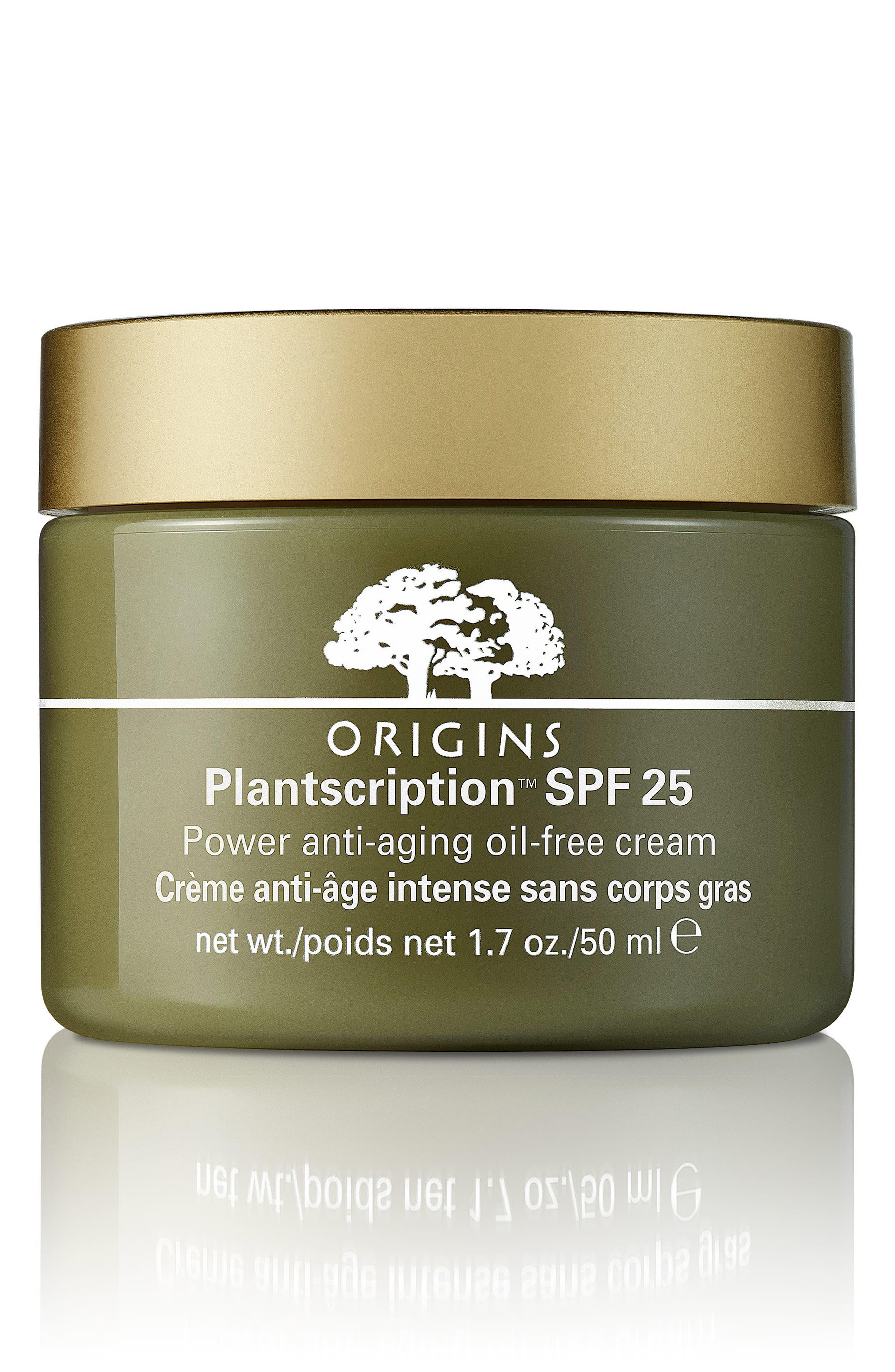 Plantscription<sup>™</sup> SPF 25 Power Anti-Aging Oil-Free Cream,                             Alternate thumbnail 2, color,                             NO COLOR