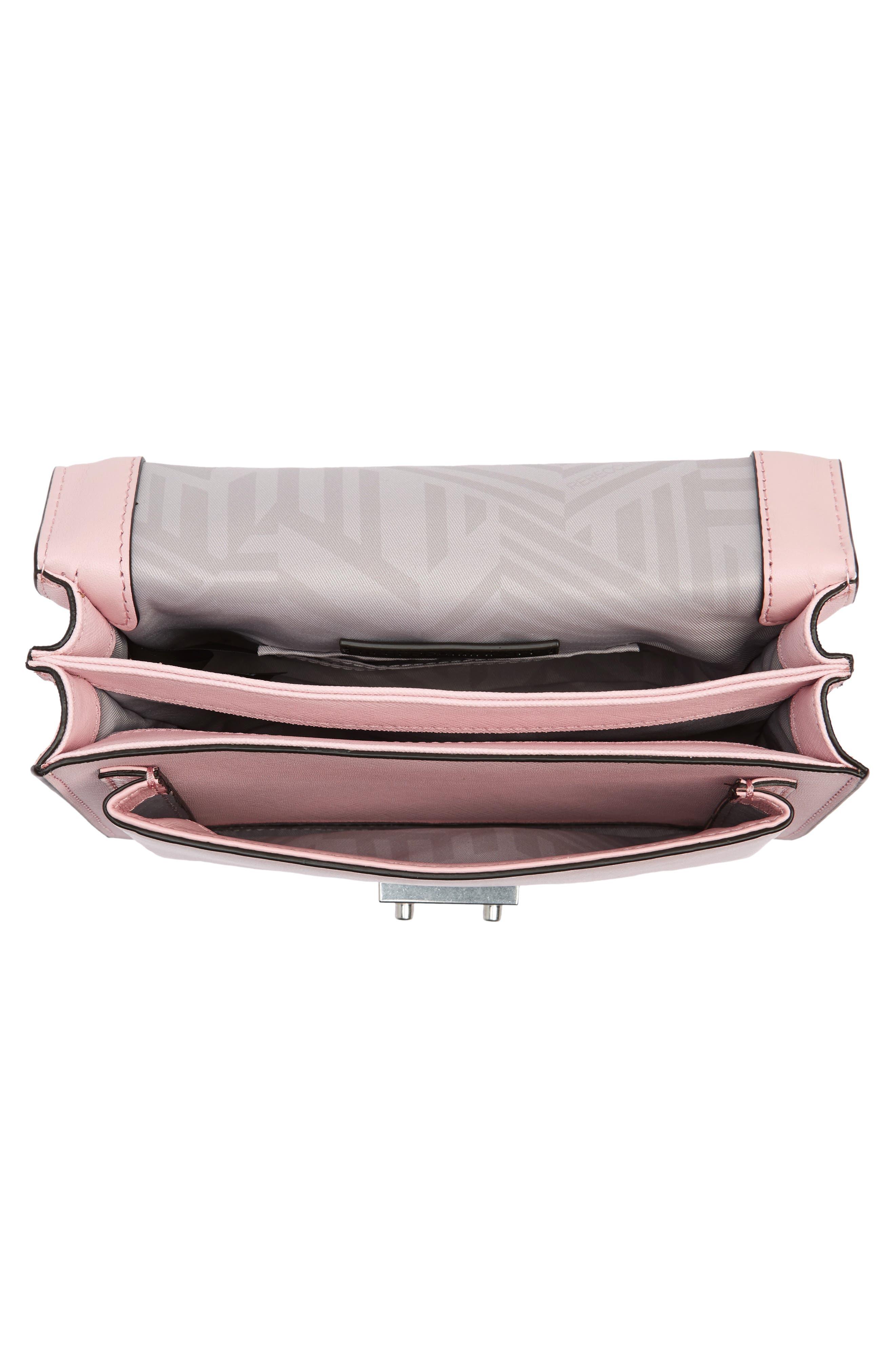 Medium Christy Leather Shoulder Bag,                             Alternate thumbnail 20, color,