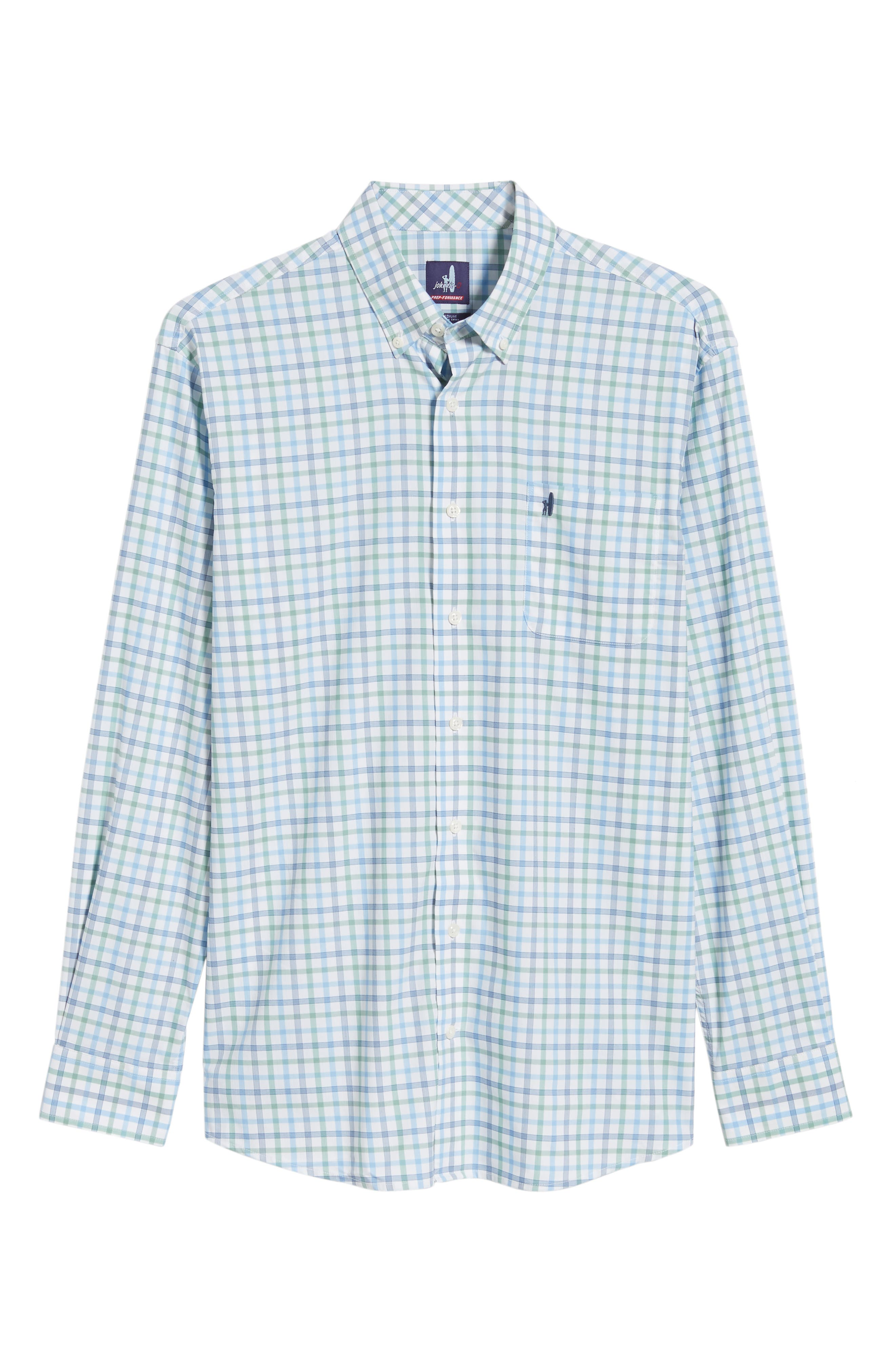 Gaffton Classic Fit Sport Shirt,                             Alternate thumbnail 5, color,                             ELM
