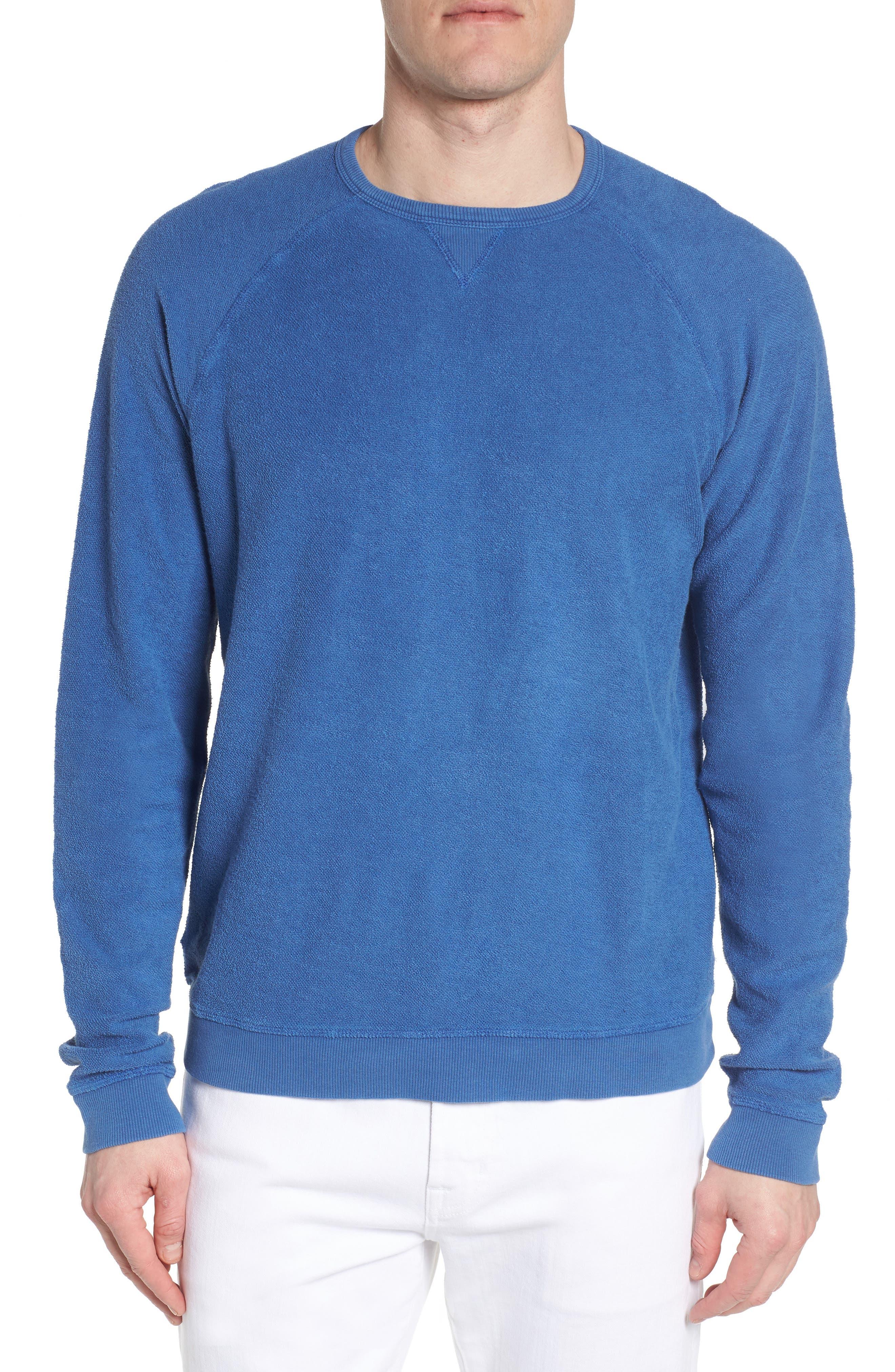 Mason Regular Fit Sweatshirt,                         Main,                         color, TIDE