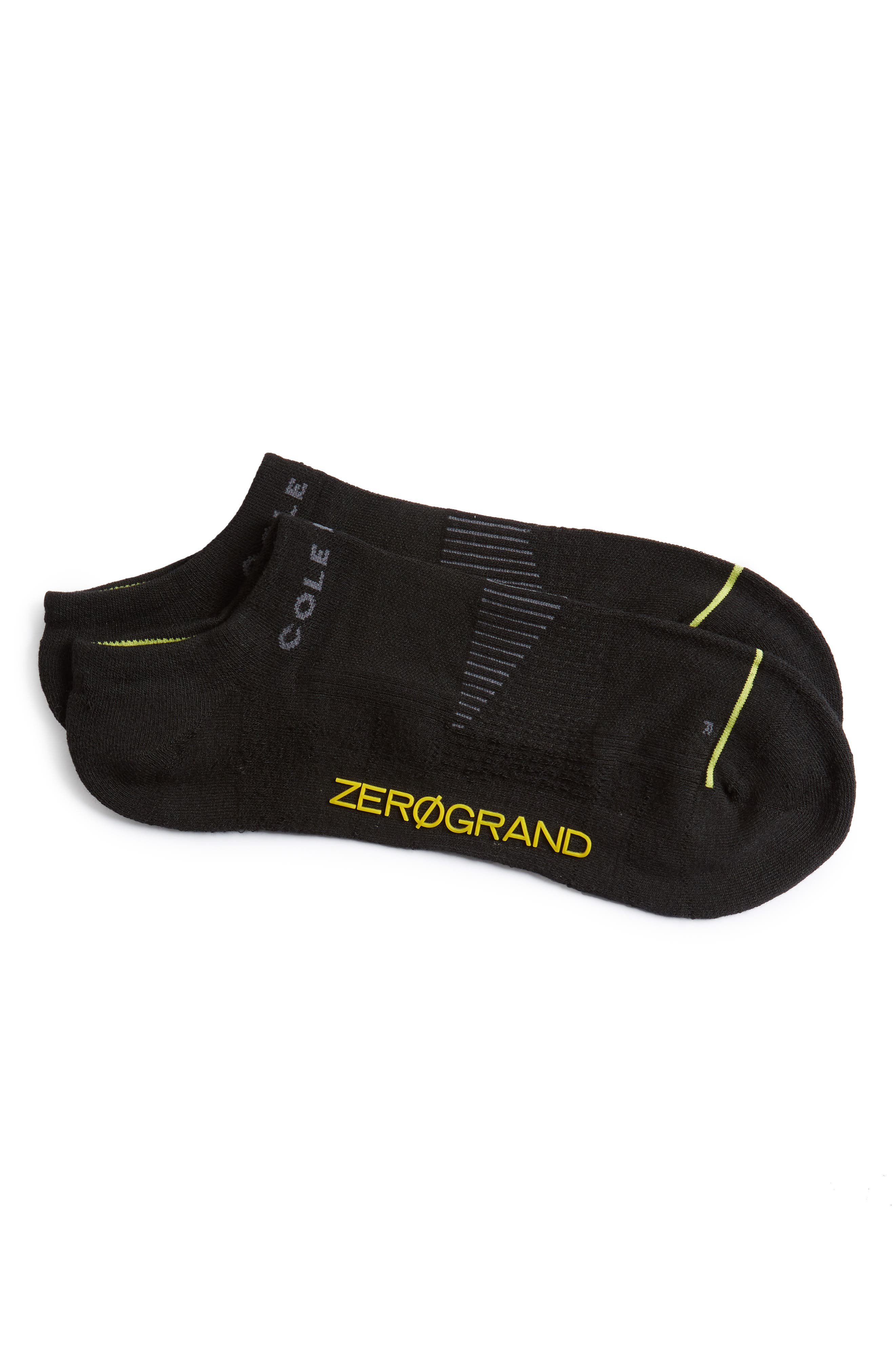 COLE HAAN ZeroGrand Liner Socks, Main, color, 001