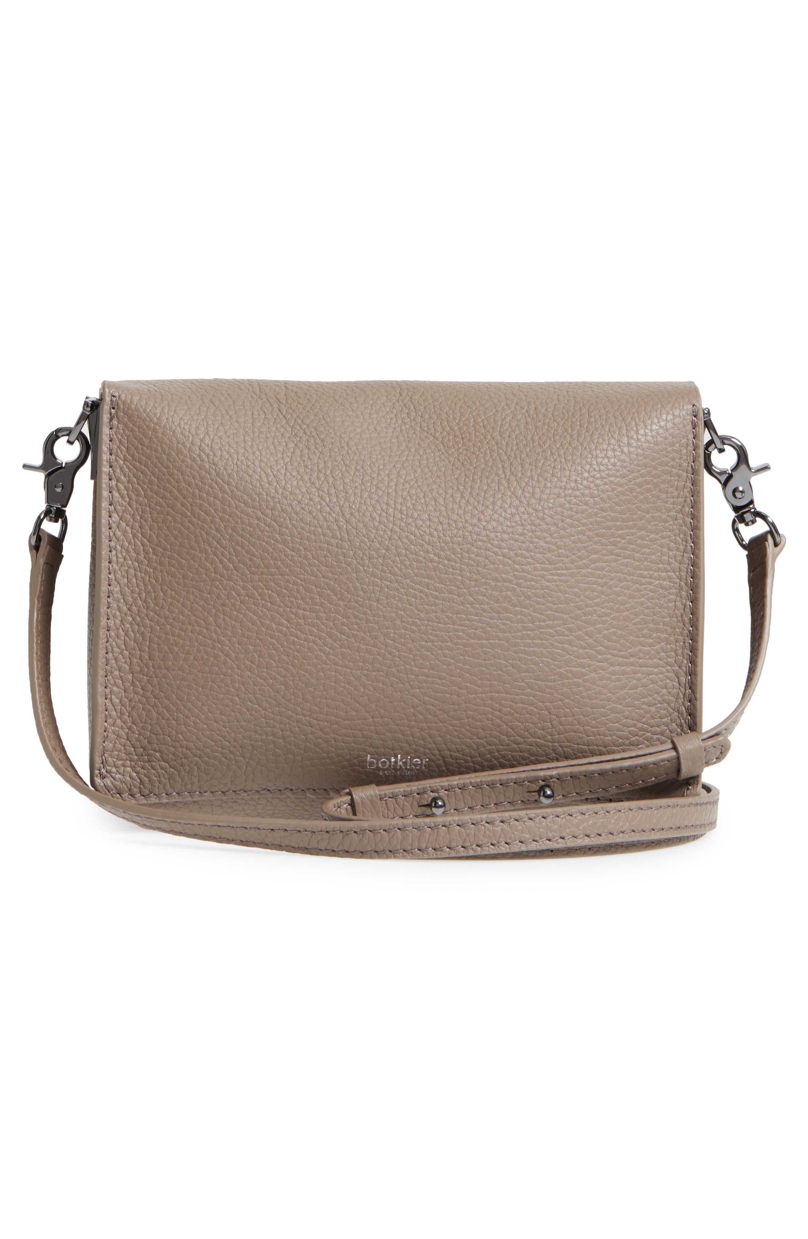 Waverly Leather Crossbody Bag,                             Alternate thumbnail 22, color,