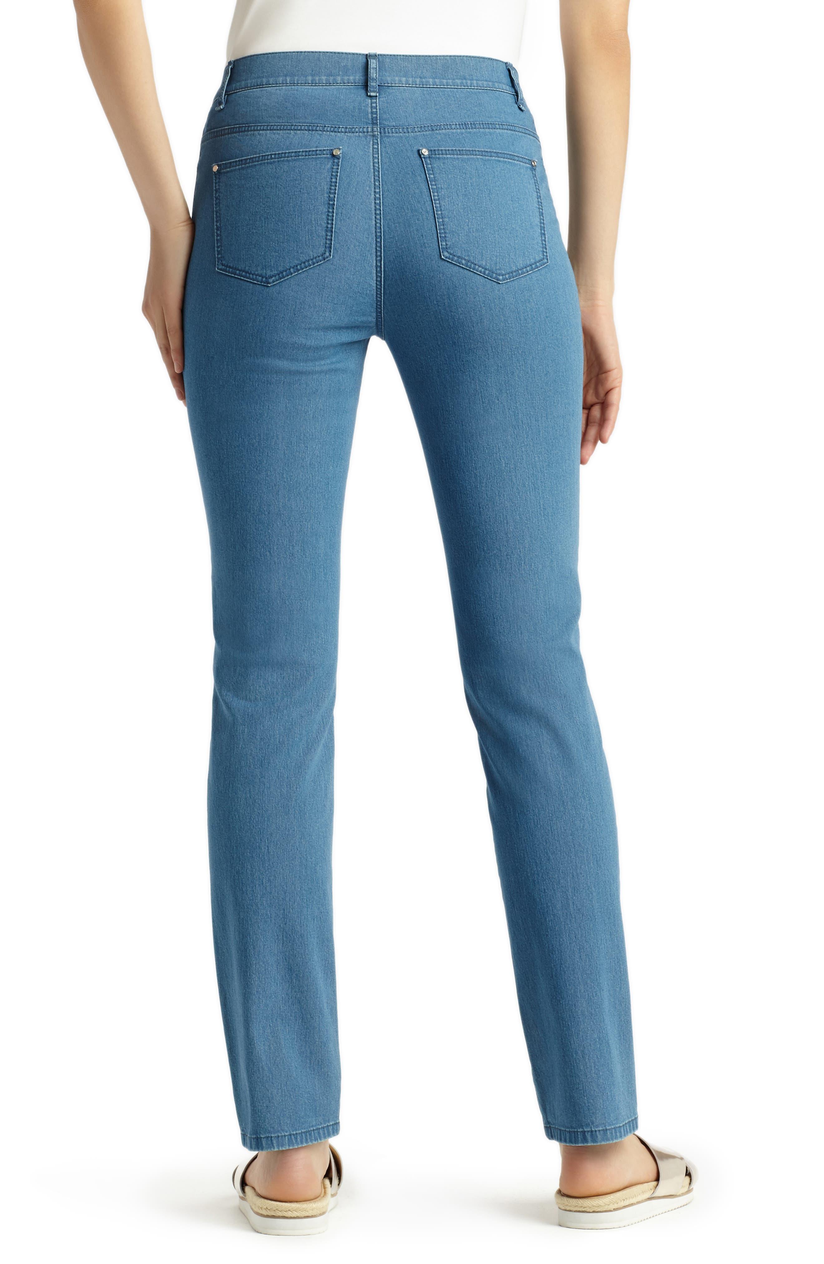 'Primo Denim' Curvy Fit Slim Leg Jeans,                             Alternate thumbnail 9, color,