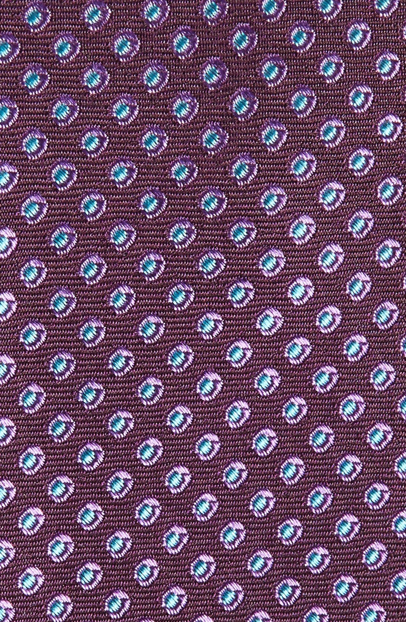 Oxford Dot Silk Tie,                             Alternate thumbnail 12, color,