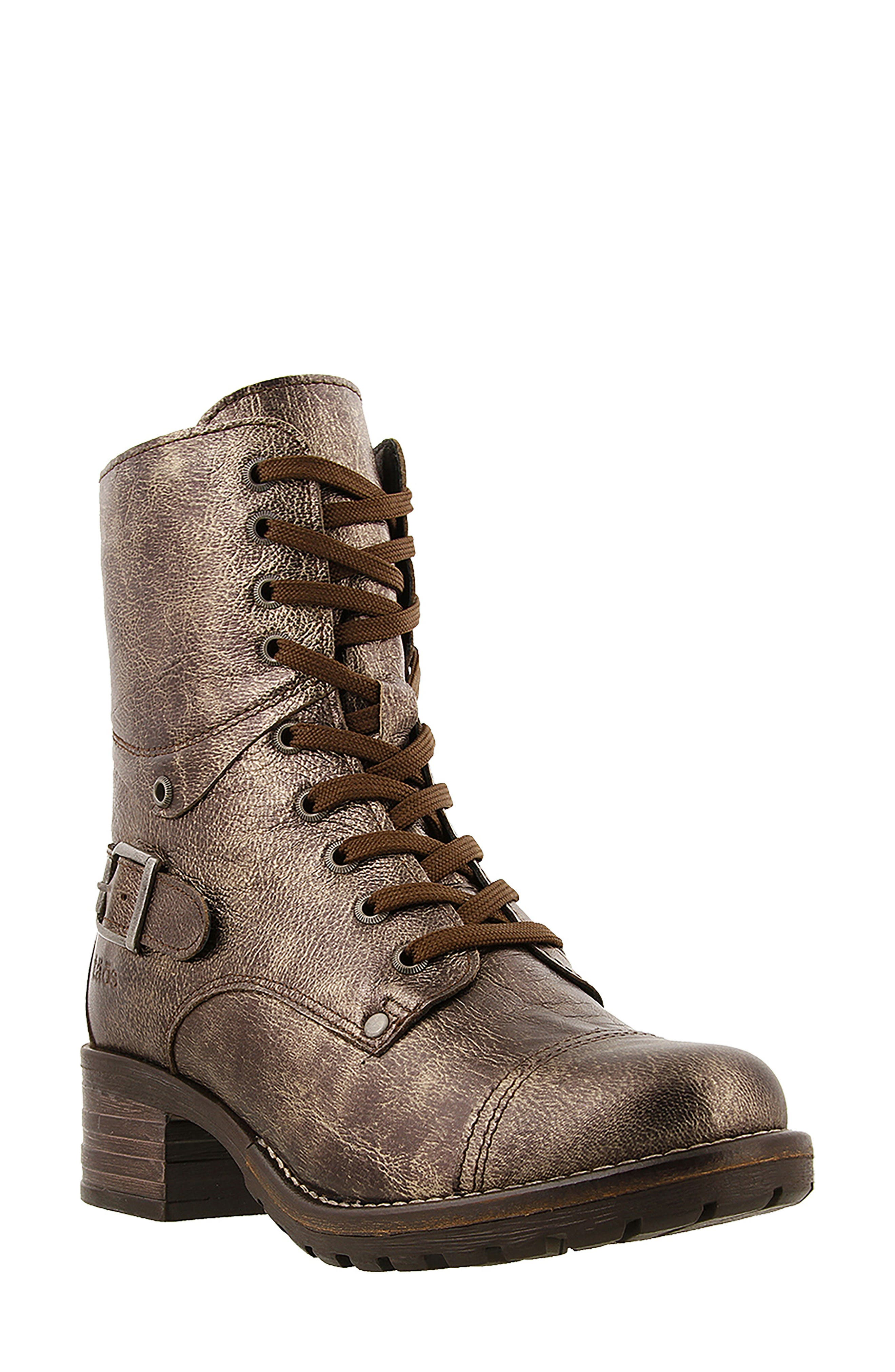 Crave Boot,                             Main thumbnail 1, color,                             BRONZE LEATHER