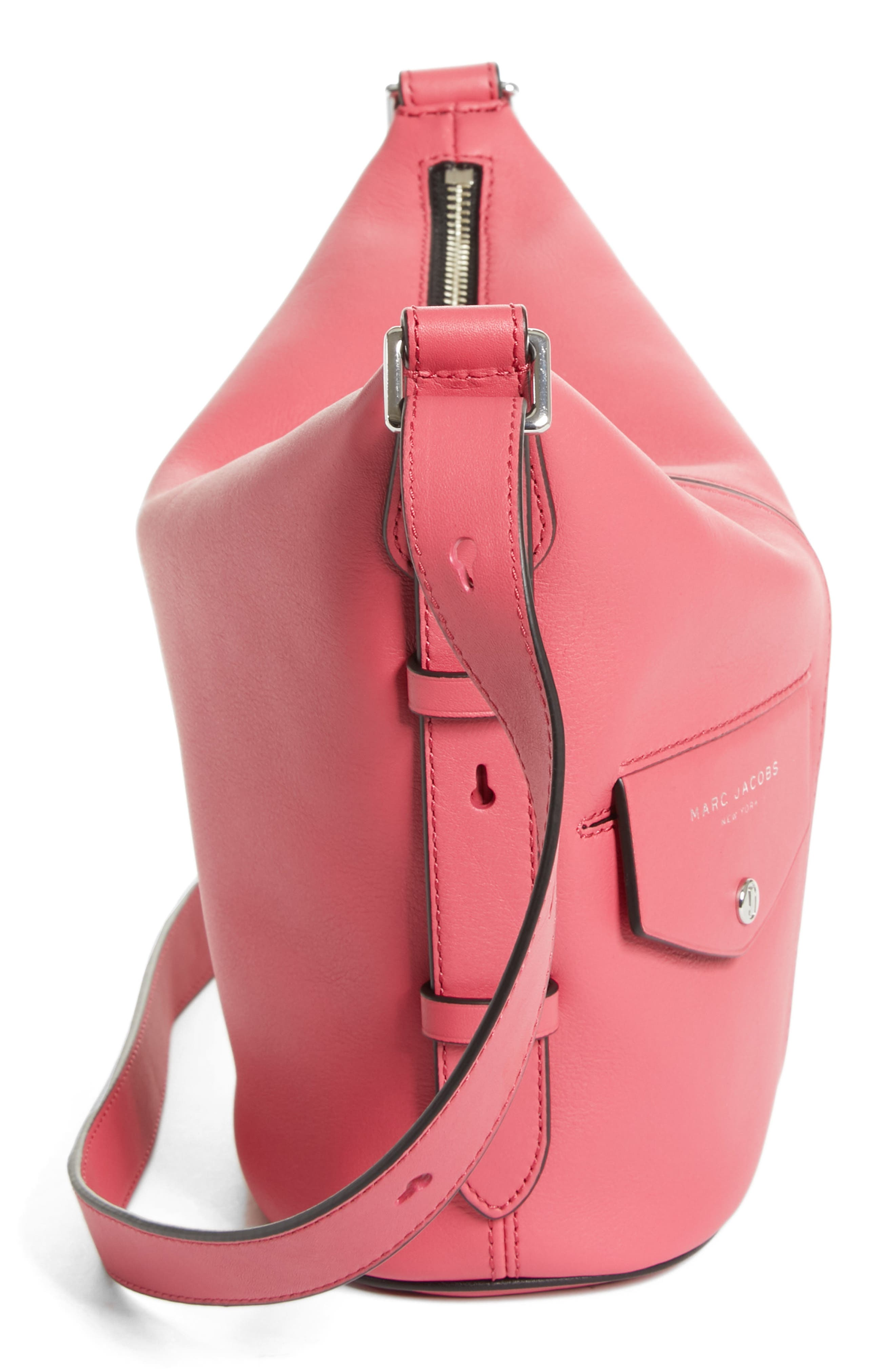 The Mini Sling Convertible Leather Hobo,                             Alternate thumbnail 35, color,