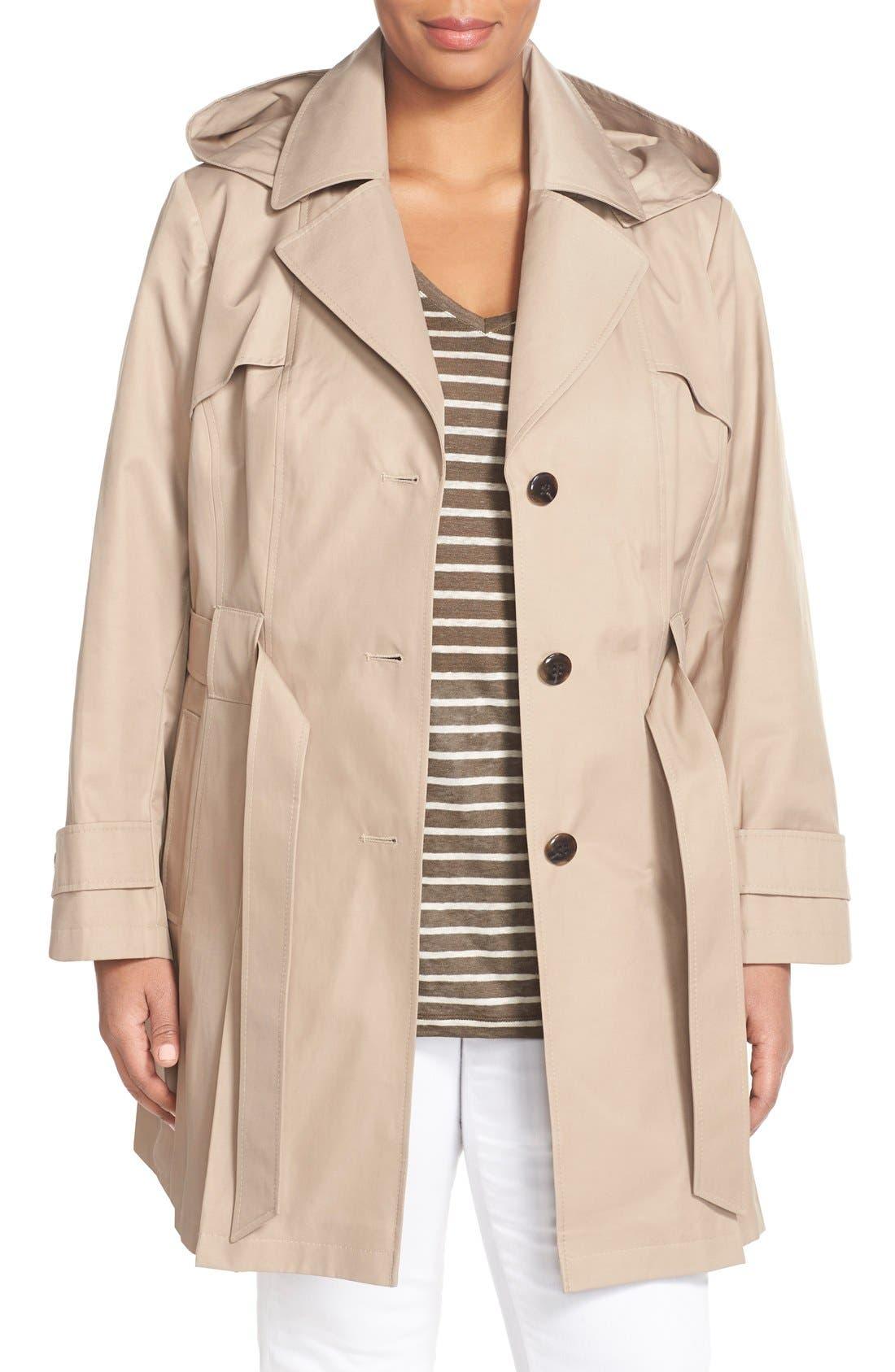 'Scarpa' Single Breasted Trench Coat,                             Main thumbnail 2, color,