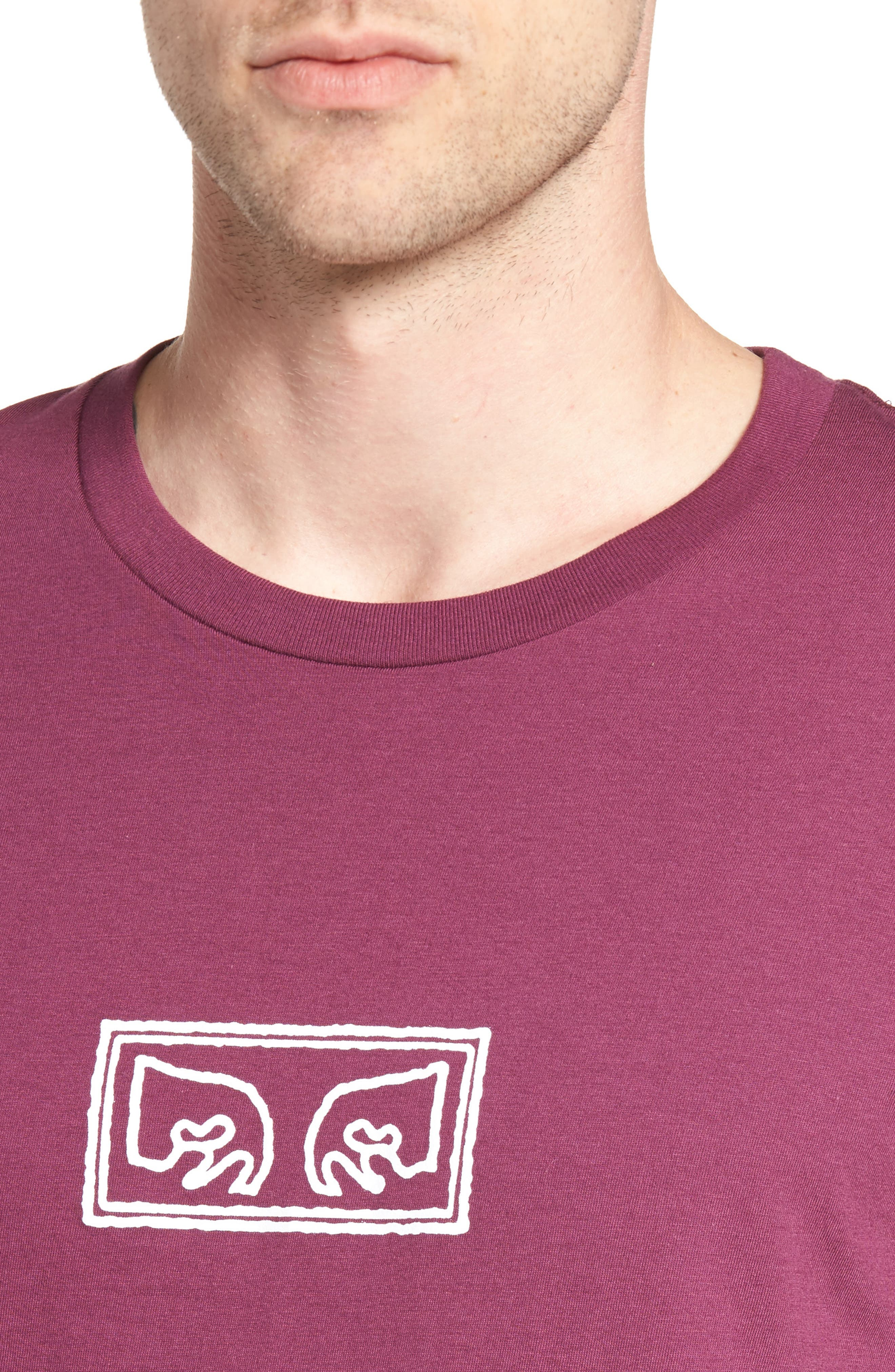 Eyes Graphic Premium T-Shirt,                             Alternate thumbnail 4, color,